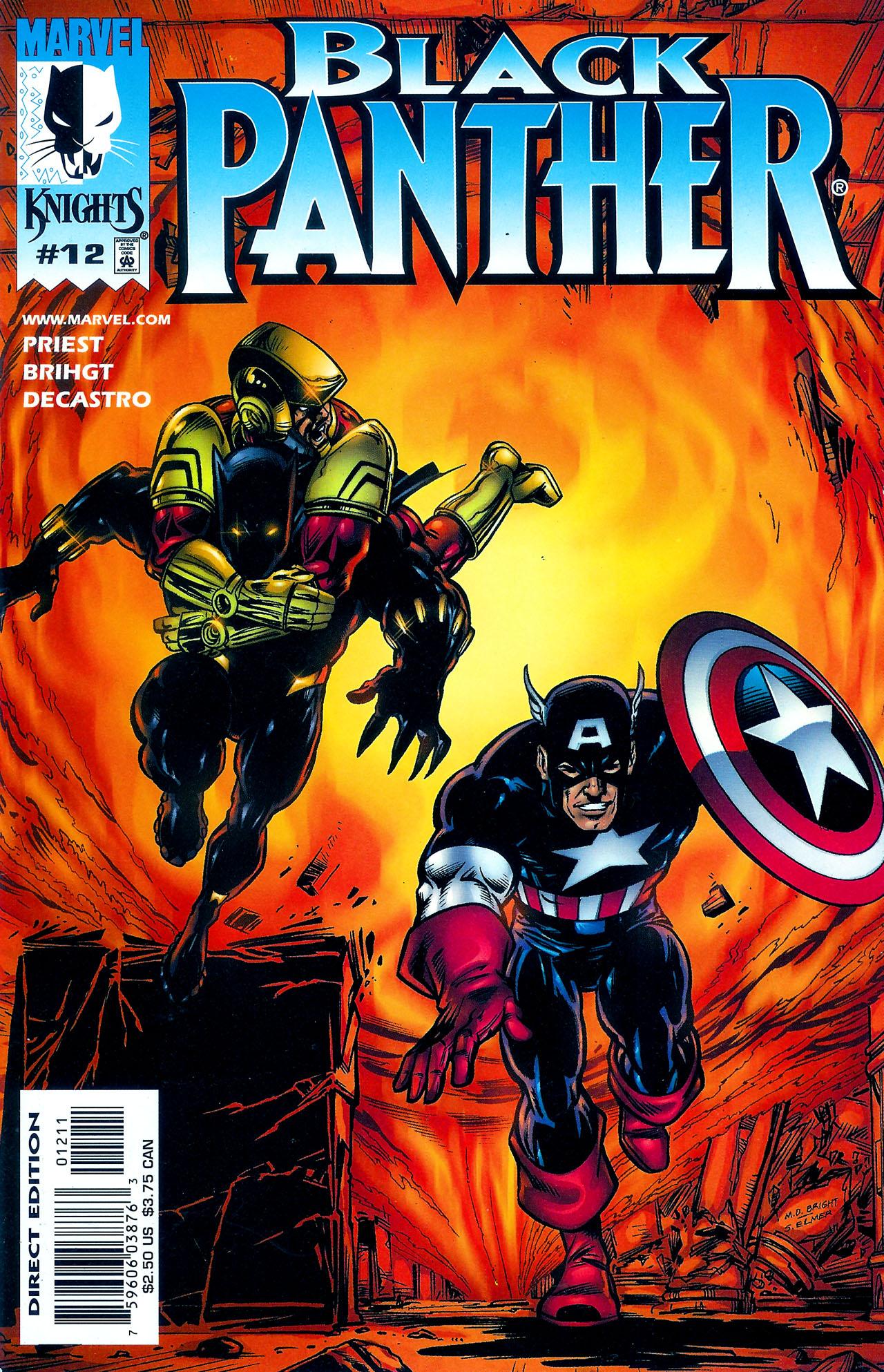 Black Panther (1998) 12 Page 1