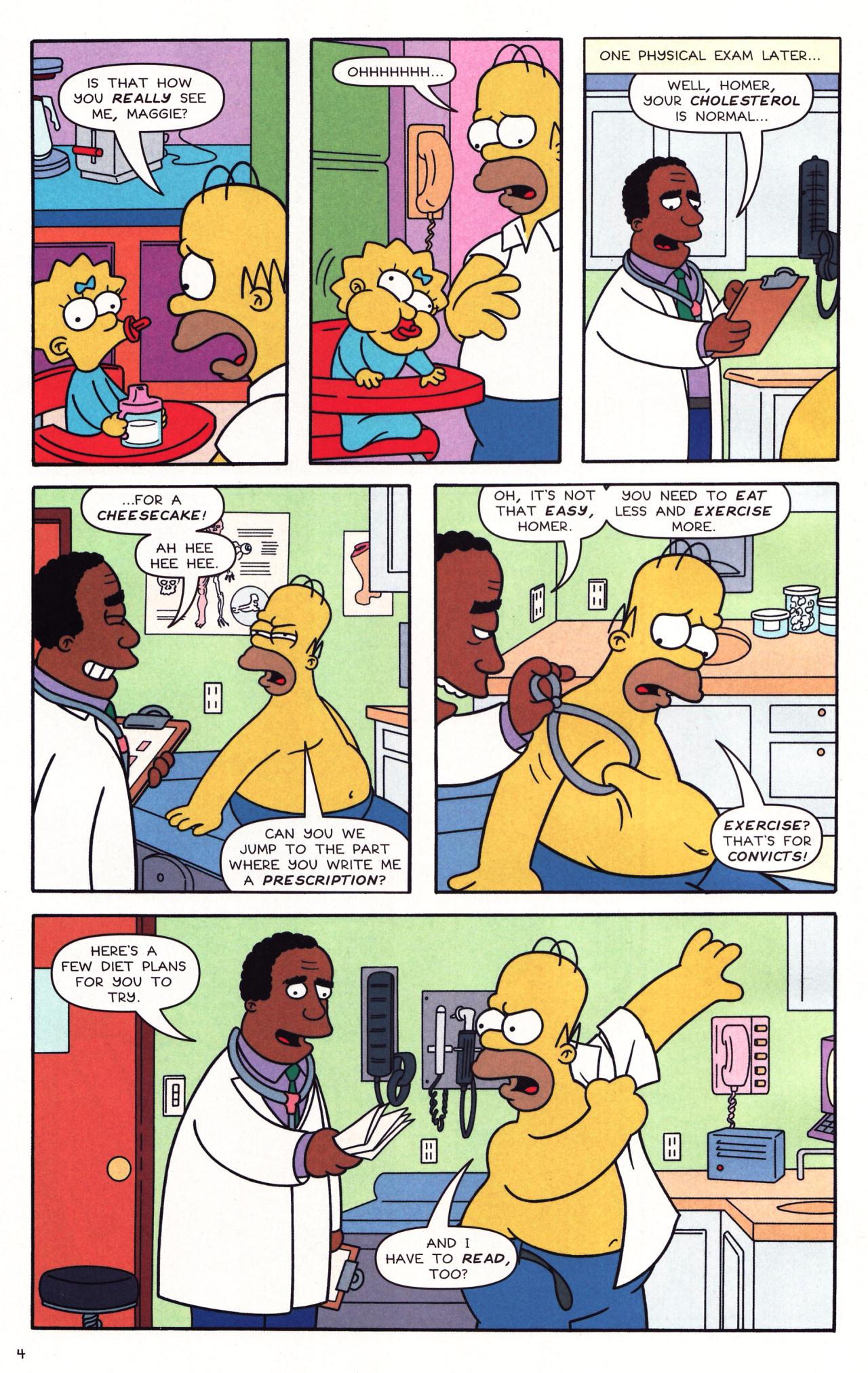 Read online Simpsons Comics comic -  Issue #137 - 5