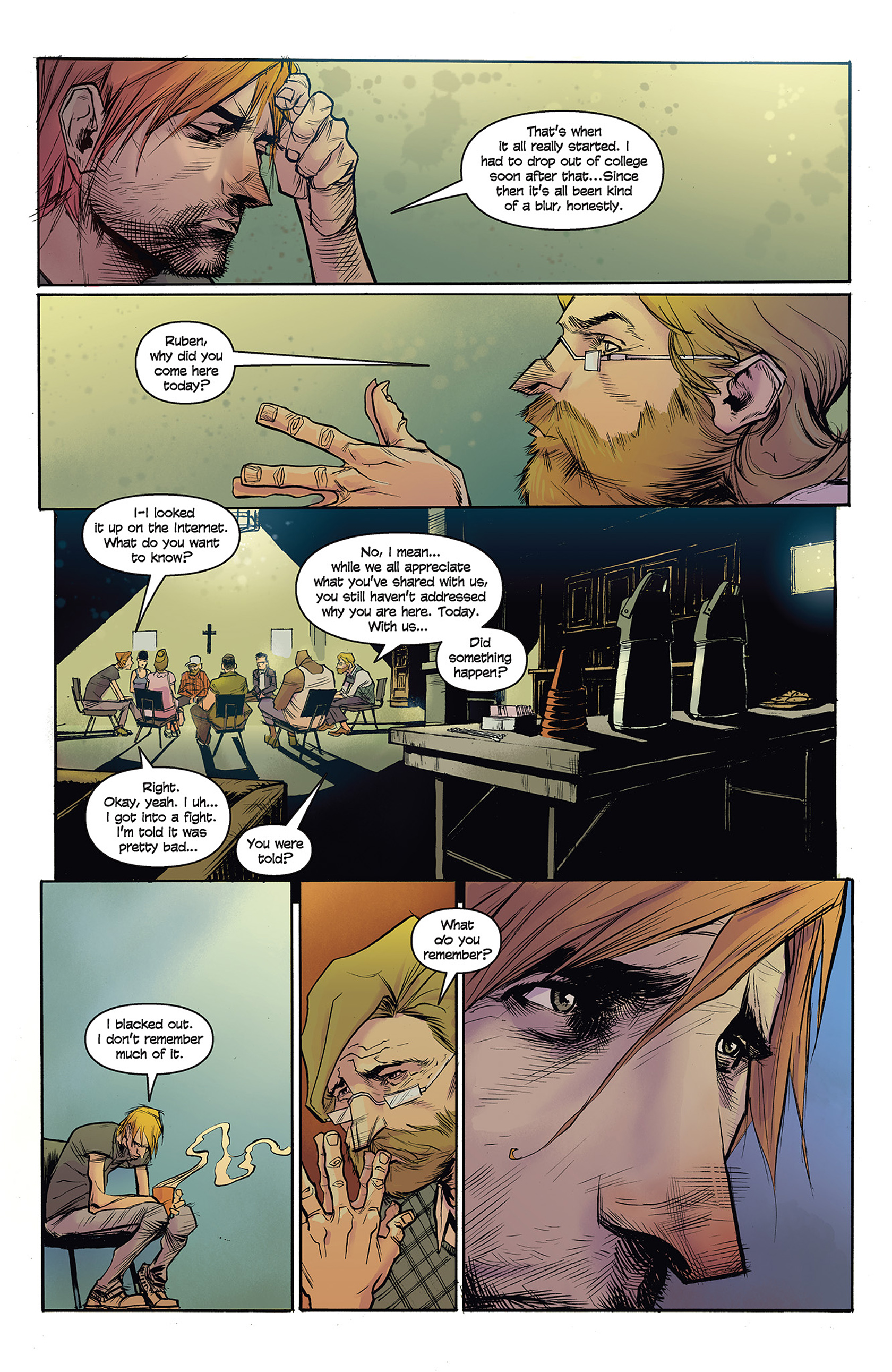 Read online Buzzkill comic -  Issue #1 - 14