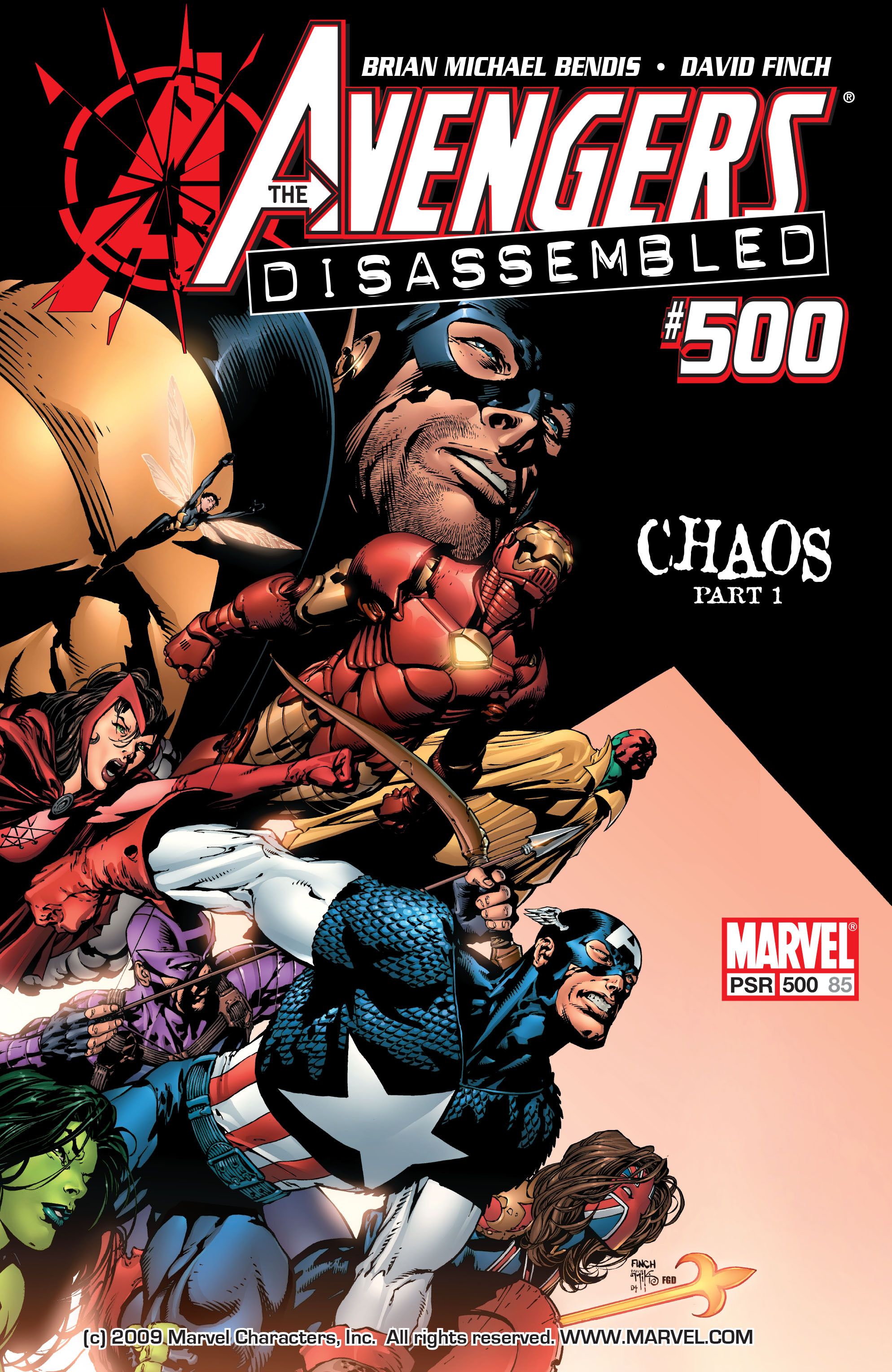 Read online Avengers (1998) comic -  Issue #500 - 1
