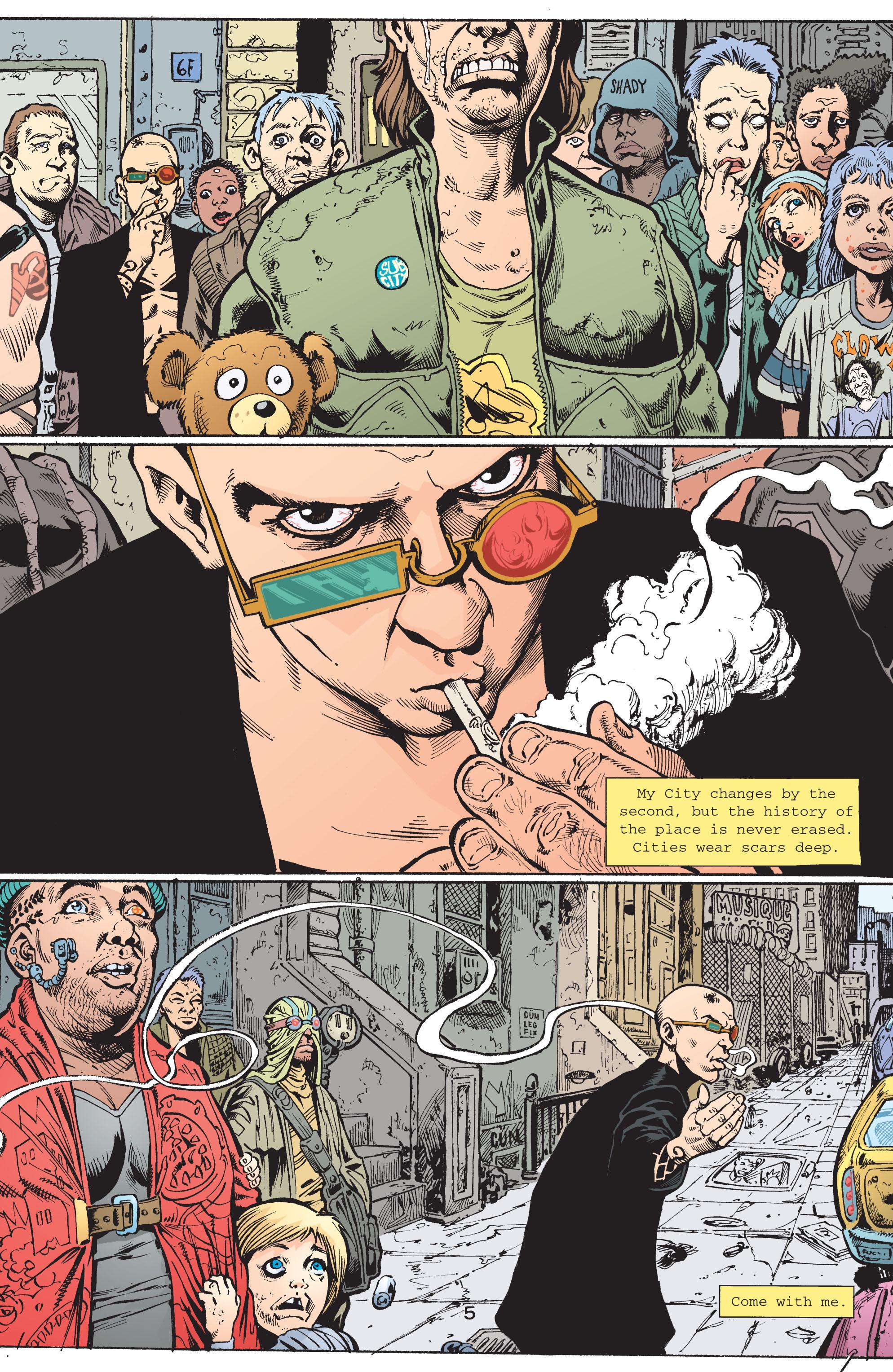 Read online Transmetropolitan comic -  Issue #42 - 6
