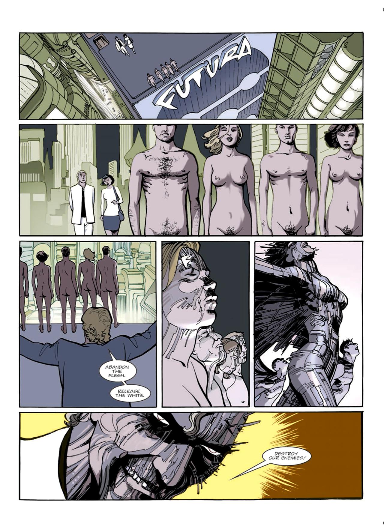 Read online Nikolai Dante comic -  Issue # TPB 9 - 41