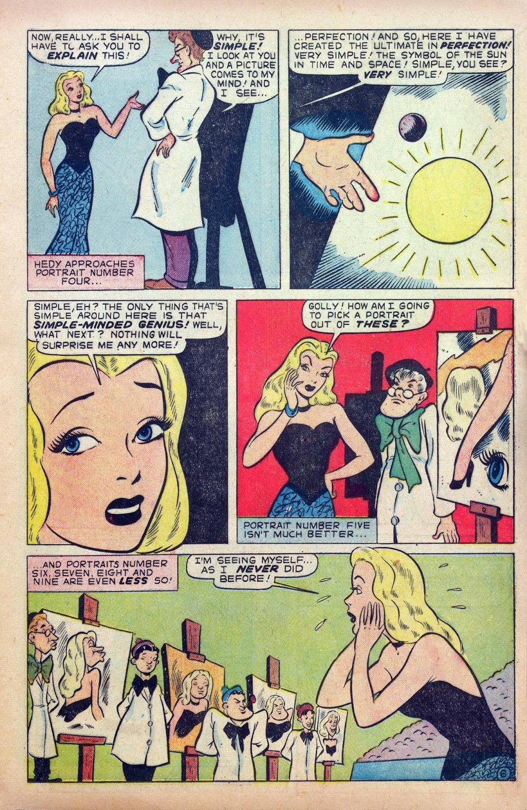 Hedy De Vine Comics issue 31 - Page 17