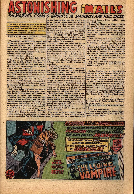 Read online Astonishing Tales (1970) comic -  Issue #22 - 13