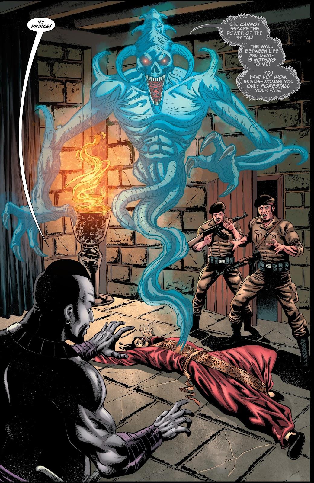 Read online Van Helsing: Sword of Heaven comic -  Issue #6 - 4