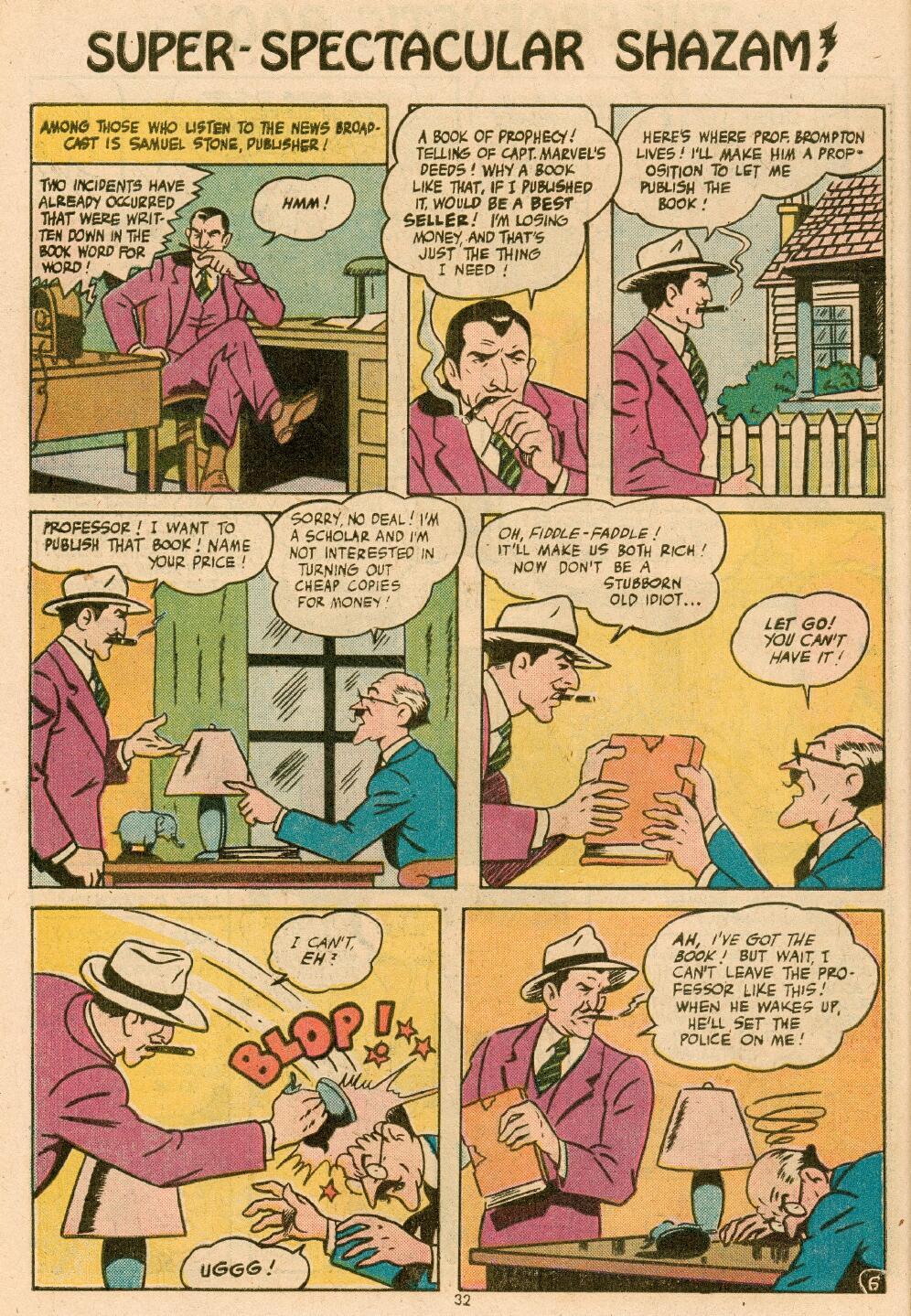 Read online Shazam! (1973) comic -  Issue #14 - 28