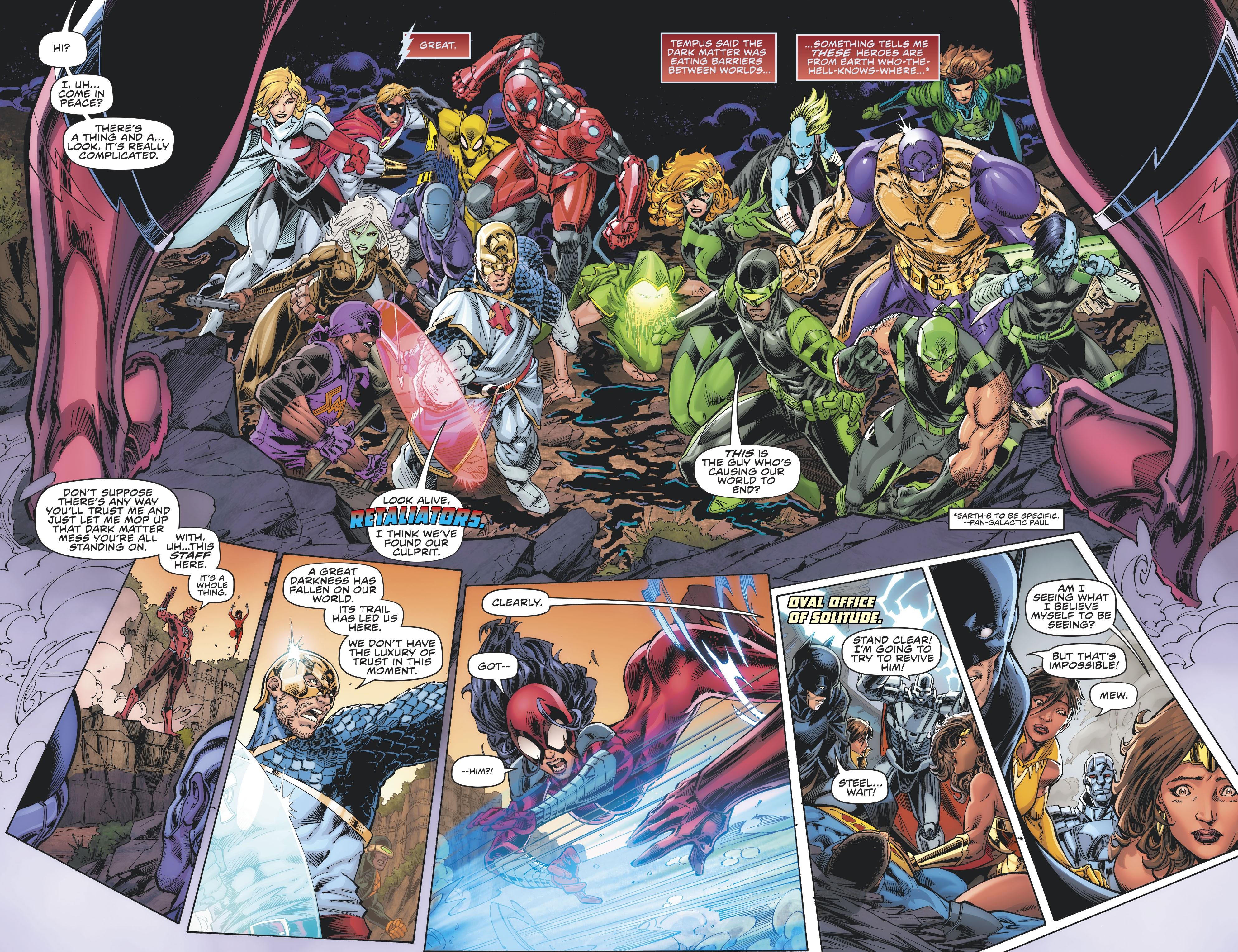 【DC宇宙相關】三代閃電俠拯救「復仇者聯盟」且他的雙胞胎孩子終於回歸!