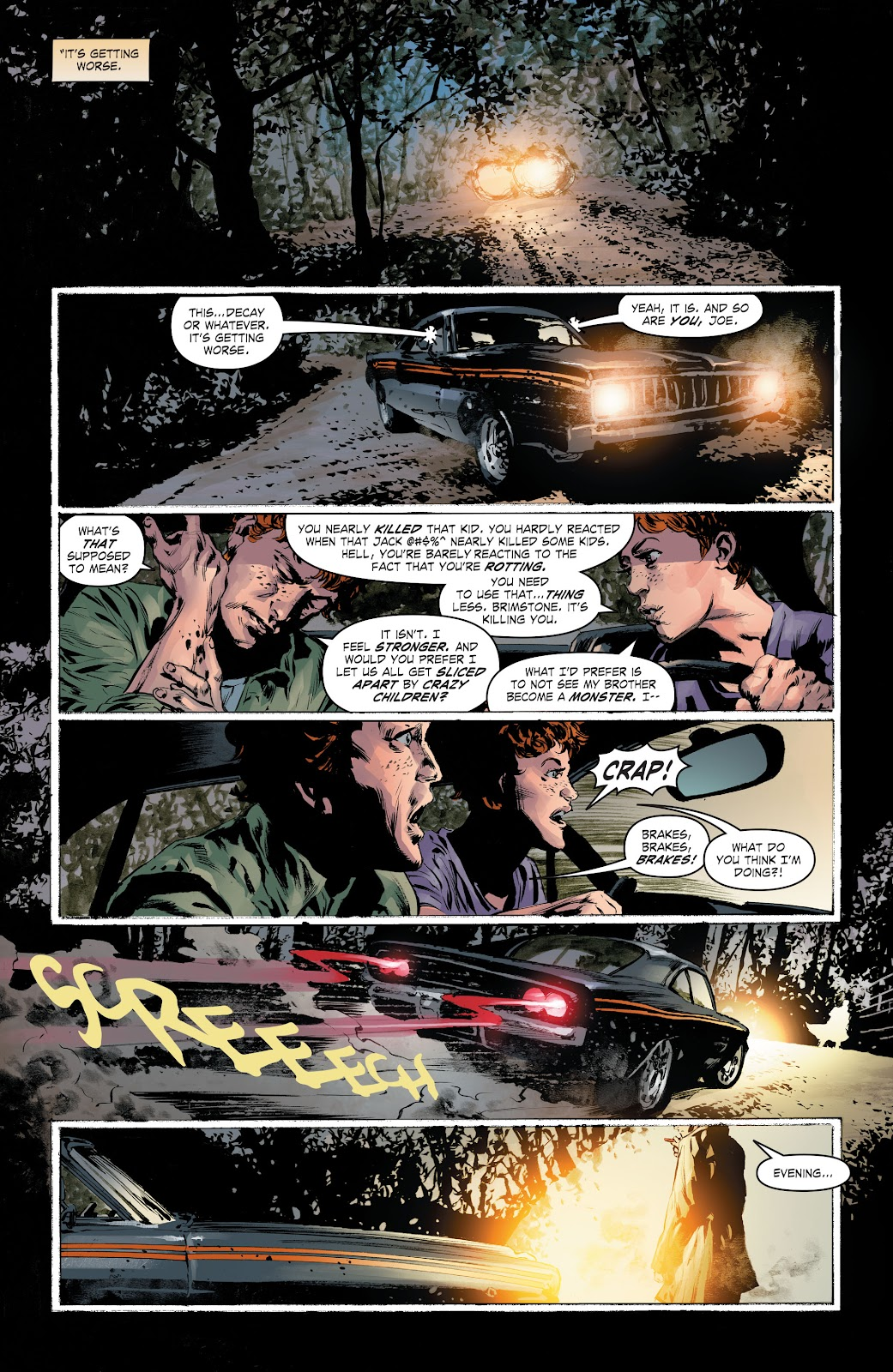 Read online The Curse of Brimstone: Ashes comic -  Issue # TPB (Part 1) - 7