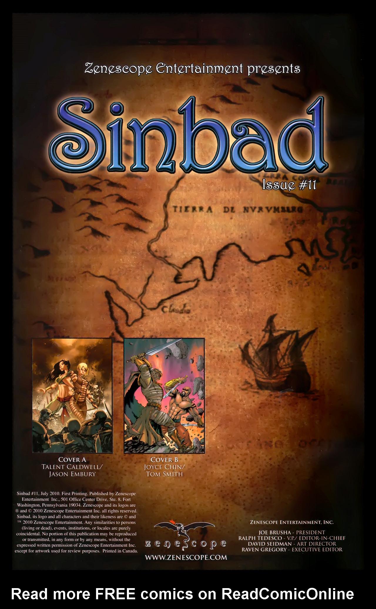 1001 Arabian Nights: The Adventures of Sinbad 11 Page 2