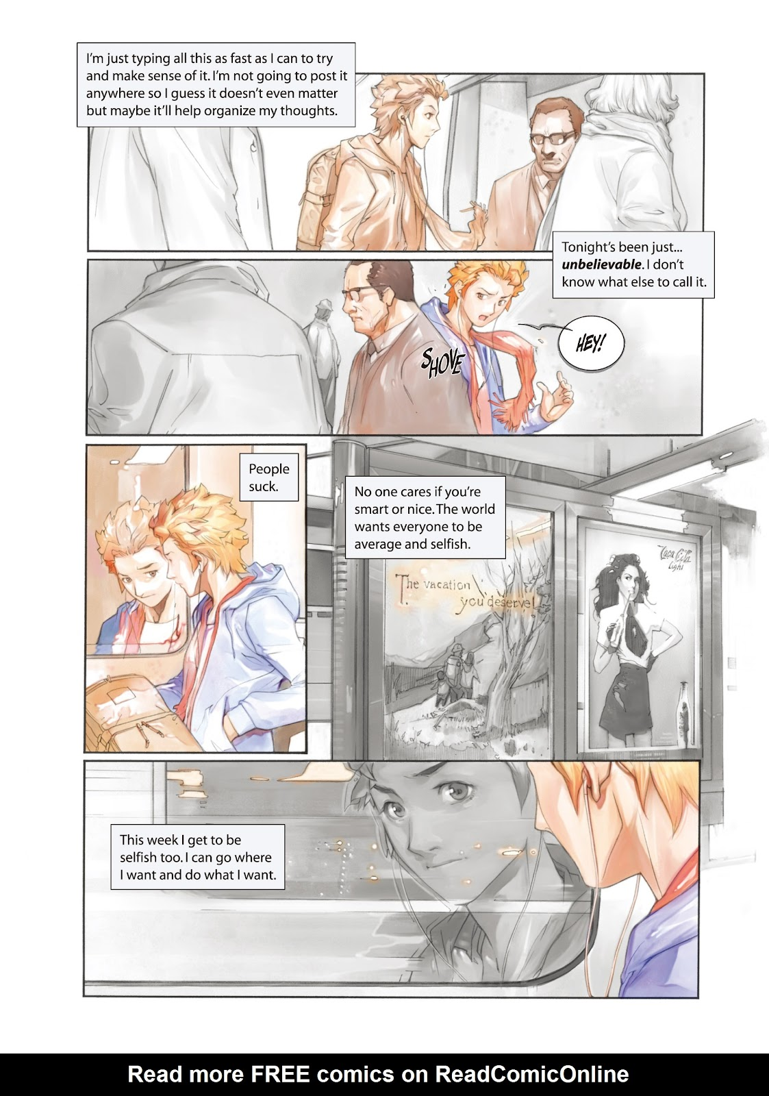Read online Makeshift Miracle: The Girl From Nowhere comic -  Issue #1 - 6