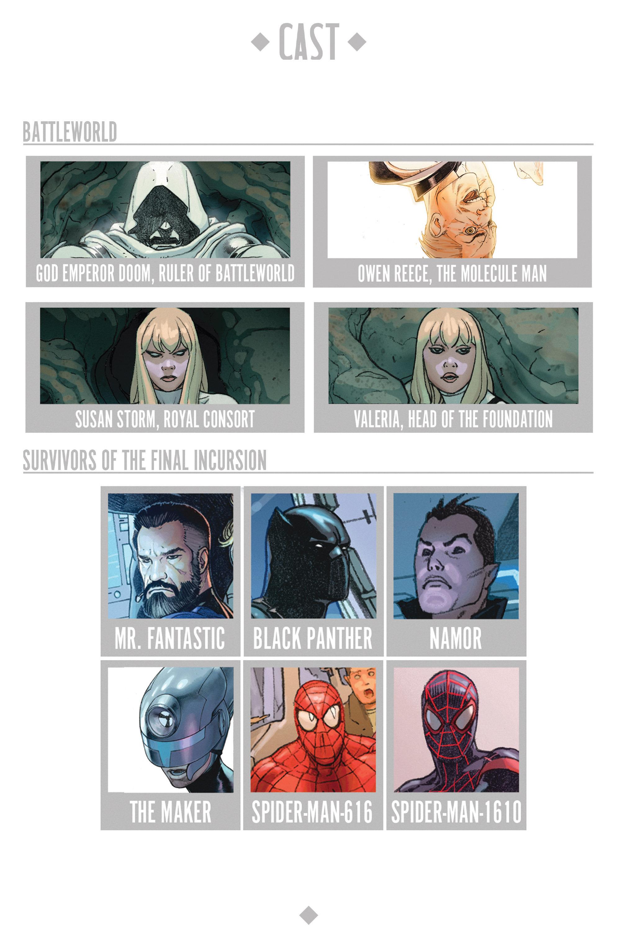 Read online Secret Wars comic -  Issue #9 - 7