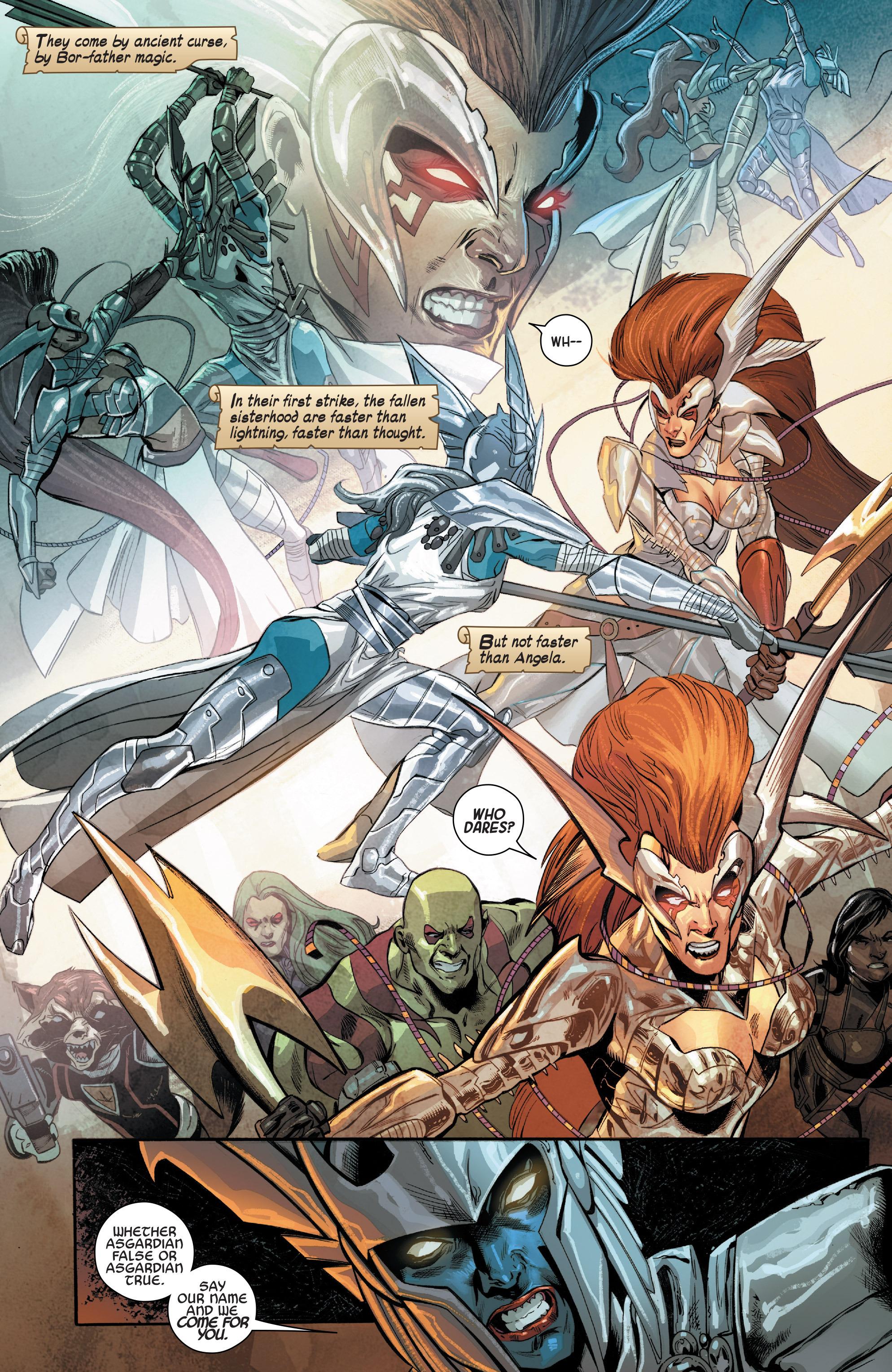 Read online Angela: Asgard's Assassin comic -  Issue #4 - 9