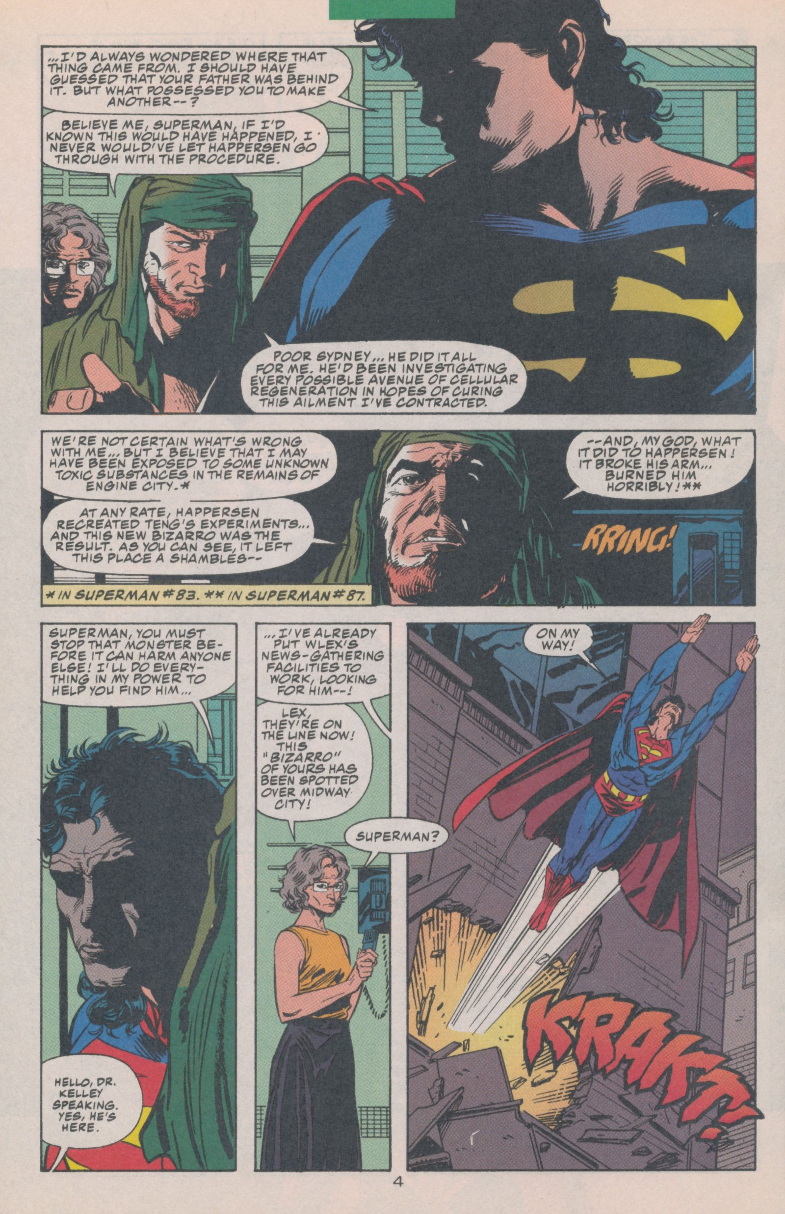Read online Action Comics (1938) comic -  Issue #697 - 6