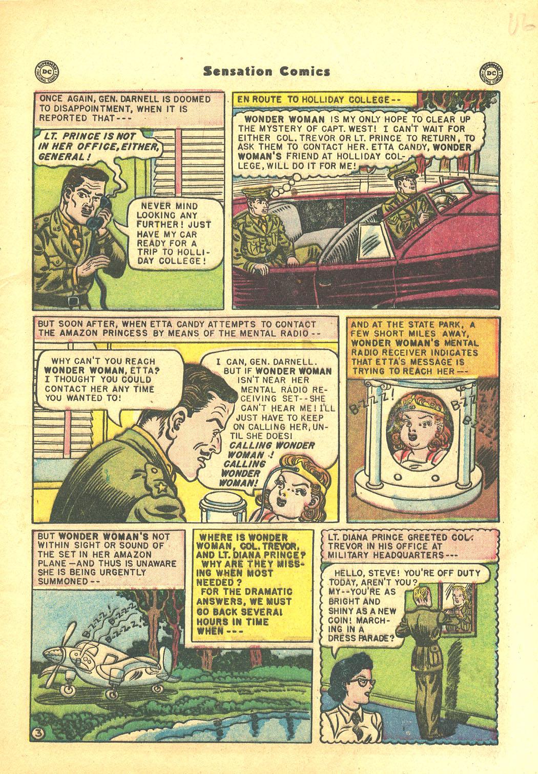 Read online Sensation (Mystery) Comics comic -  Issue #94 - 5