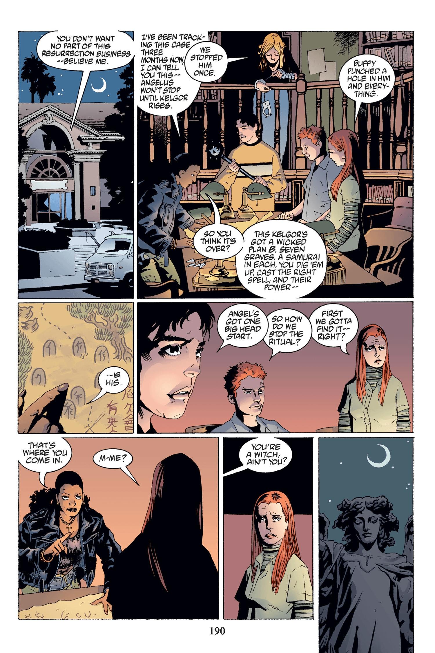 Read online Buffy the Vampire Slayer: Omnibus comic -  Issue # TPB 2 - 184
