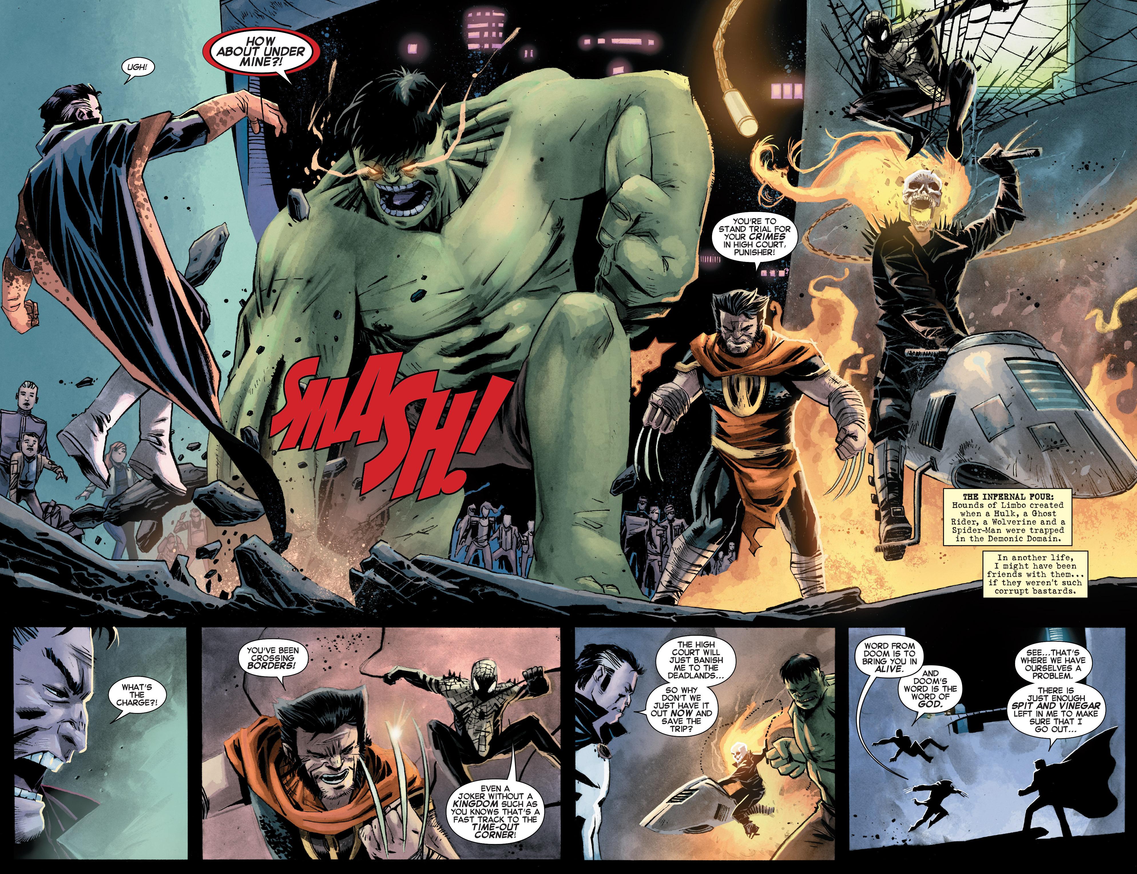 Read online Secret Wars Journal/Battleworld comic -  Issue # TPB - 123