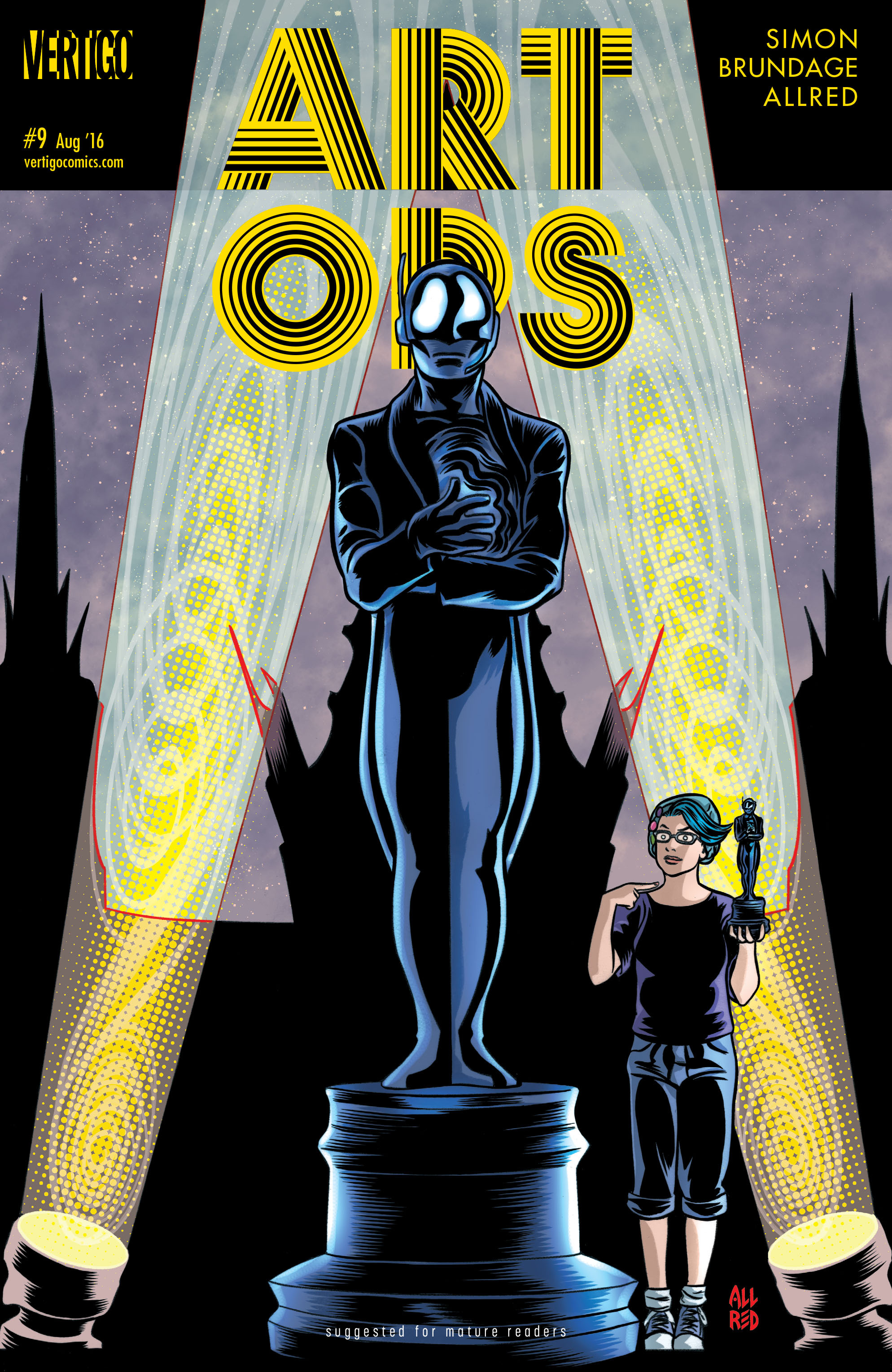Read online Art Ops comic -  Issue #9 - 1