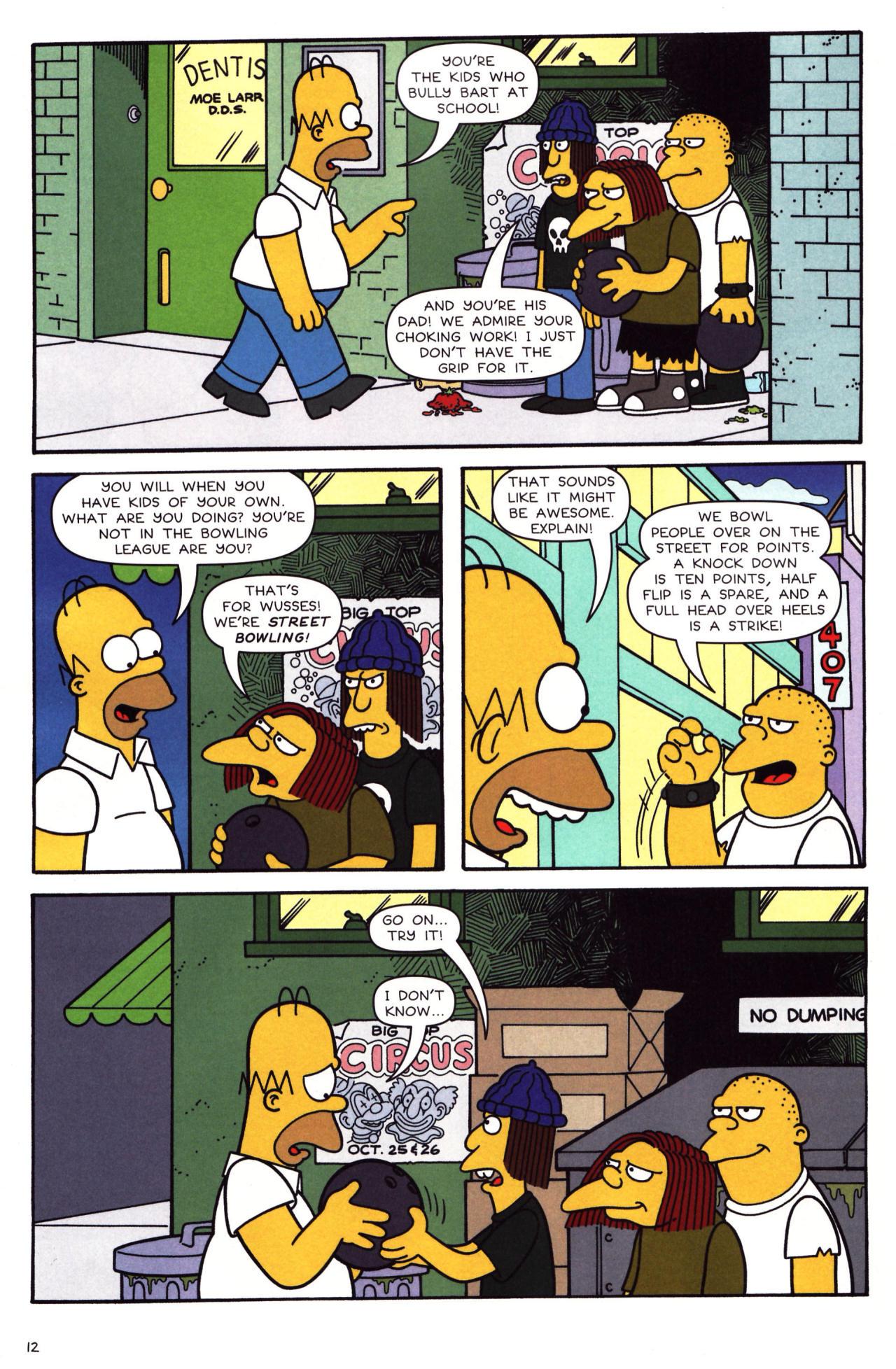 Read online Simpsons Comics comic -  Issue #136 - 10