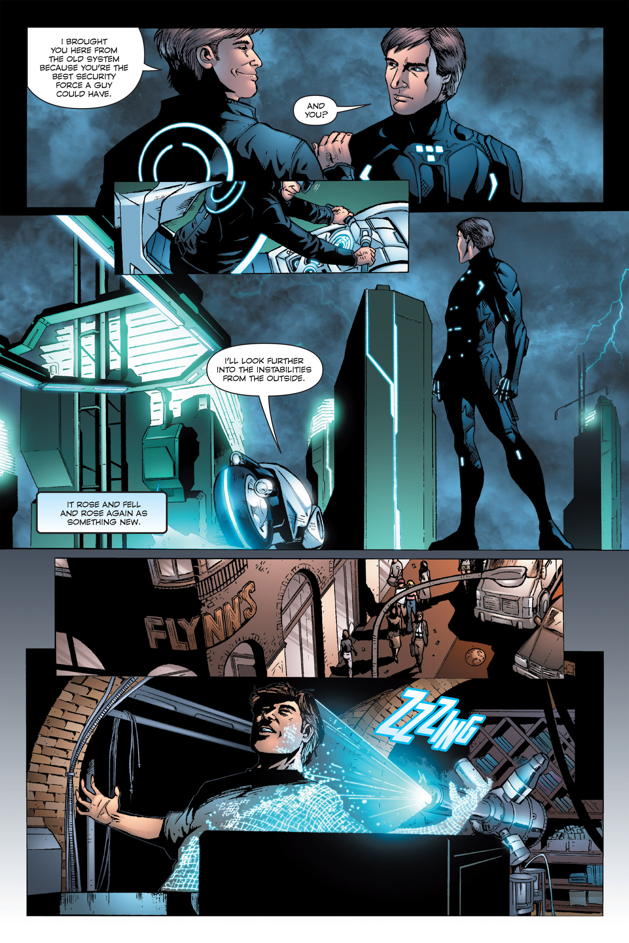 Read online TRON: Betrayal comic -  Issue # TPB - 20