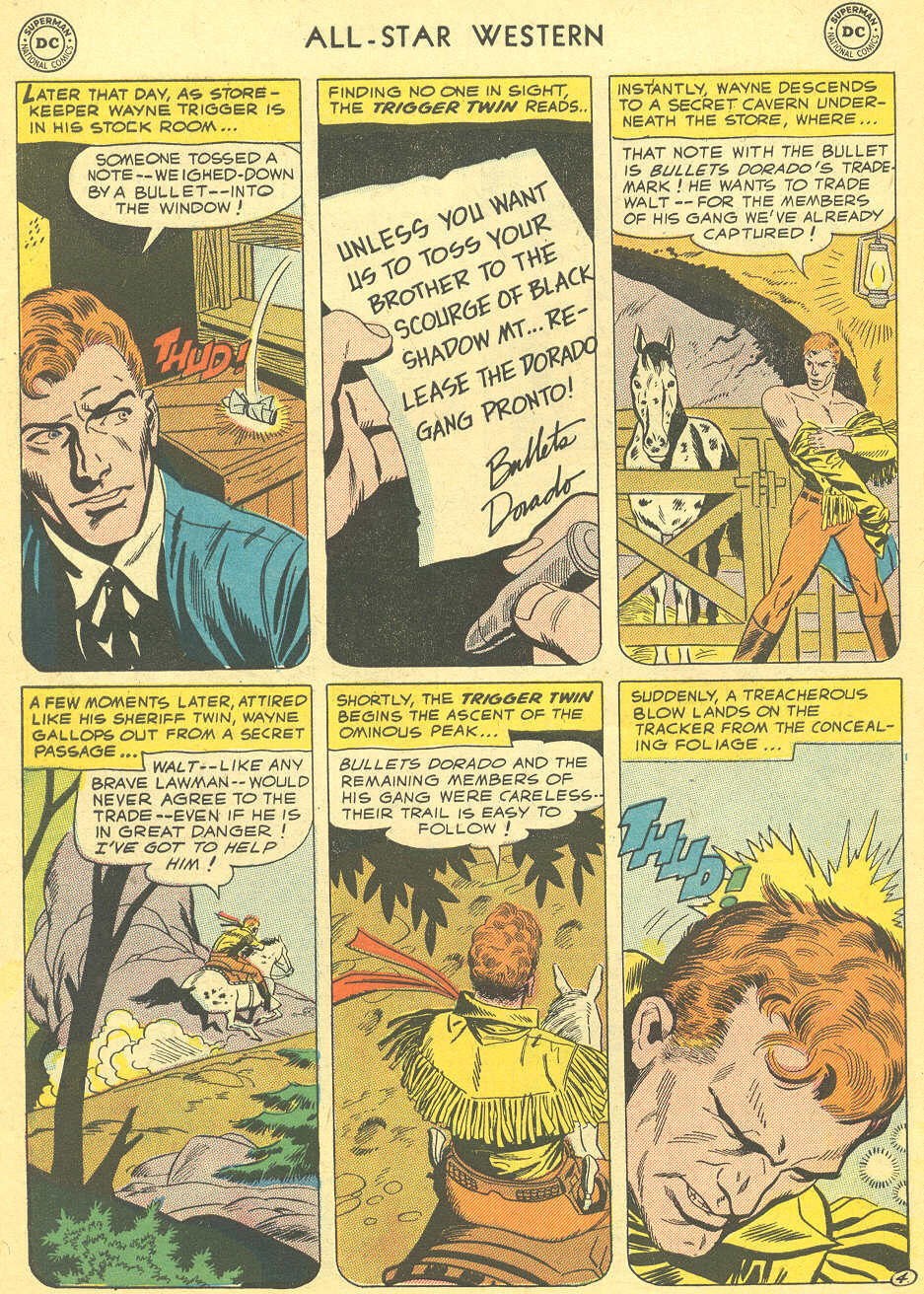 Read online All-Star Western (1951) comic -  Issue #92 - 6