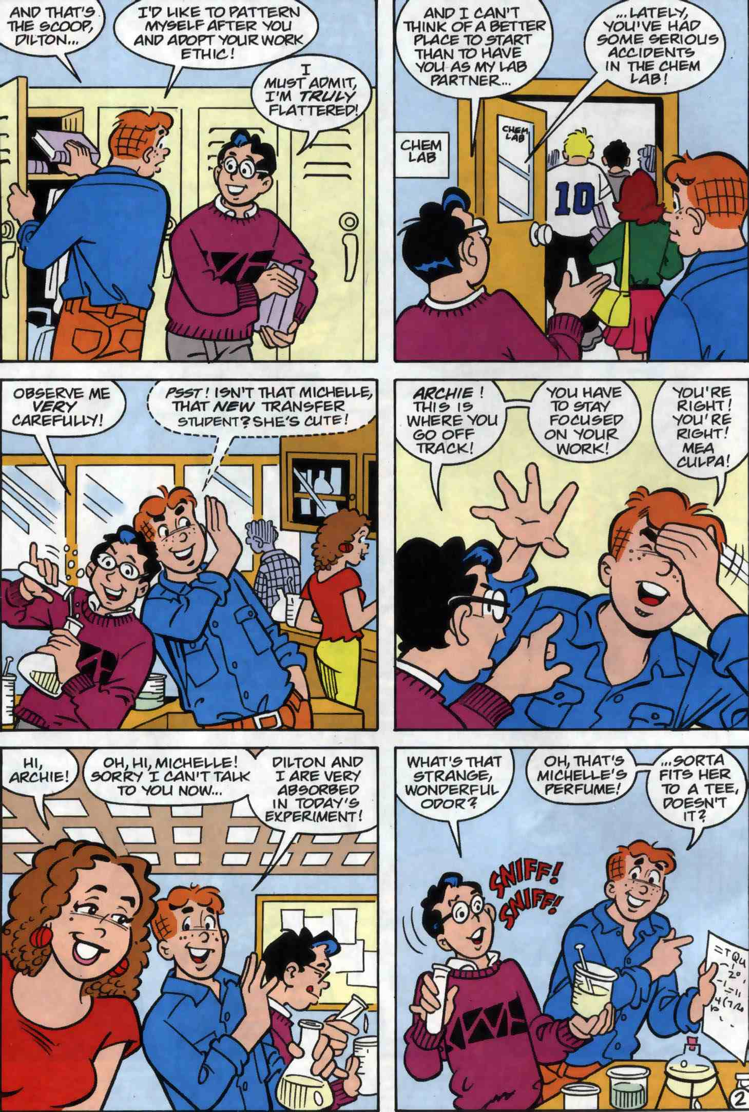Read online Archie (1960) comic -  Issue #556 - 3