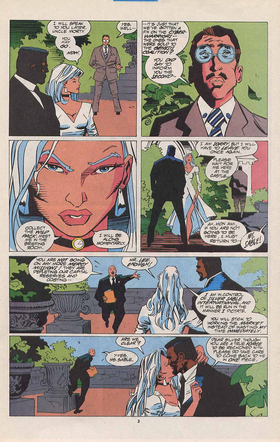 Read online Silver Sable and the Wild Pack comic -  Issue #11 - 4