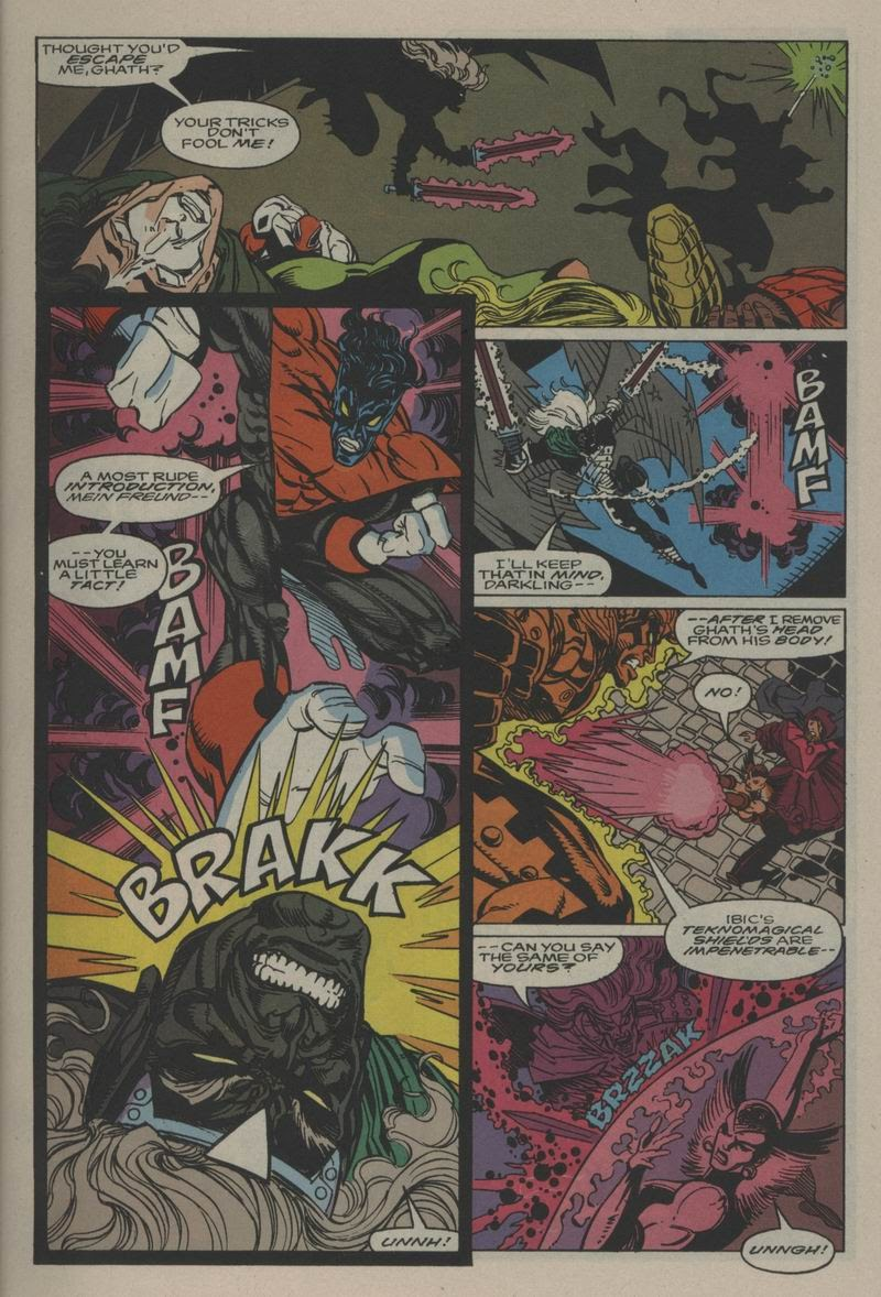 Excalibur (1988) issue Annual 1 - Page 10