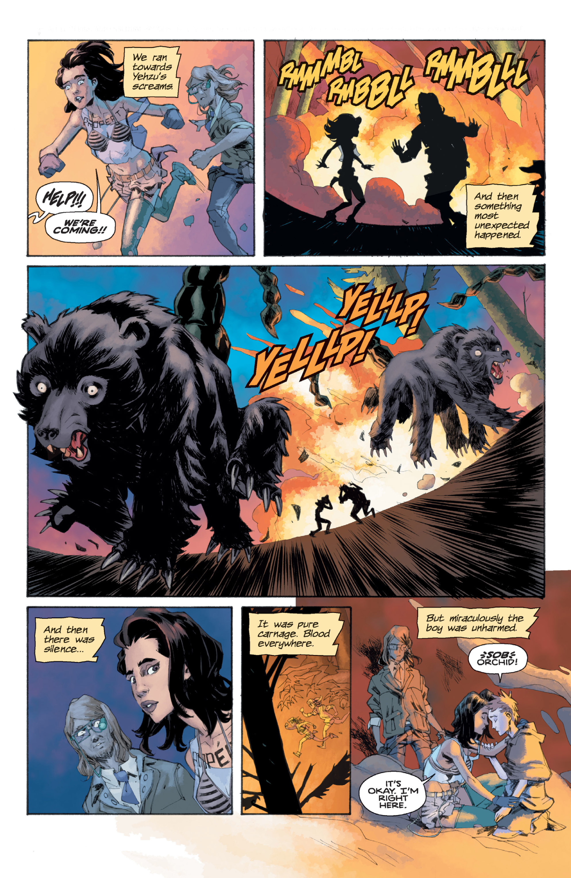 Read online Orchid comic -  Issue # TPB 1 - 63