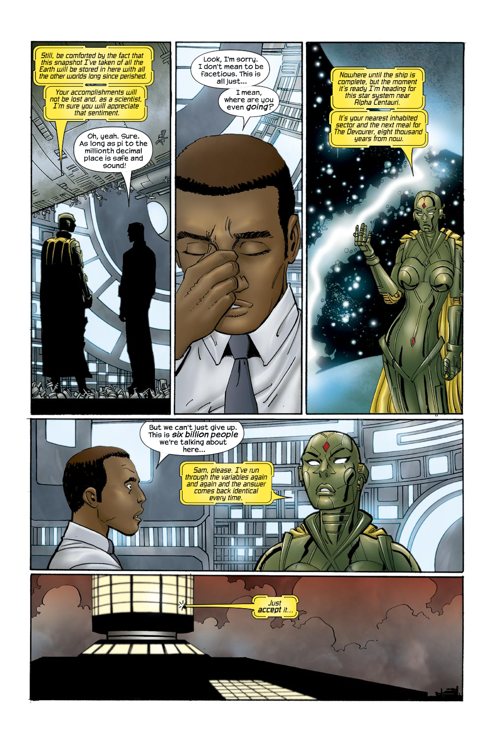 Read online Ultimate Vision comic -  Issue #0 - 25