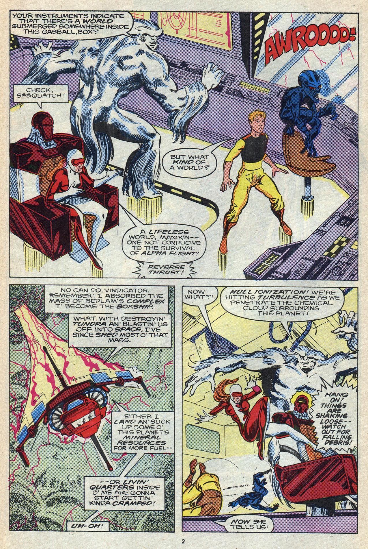 Read online Alpha Flight (1983) comic -  Issue #57 - 4