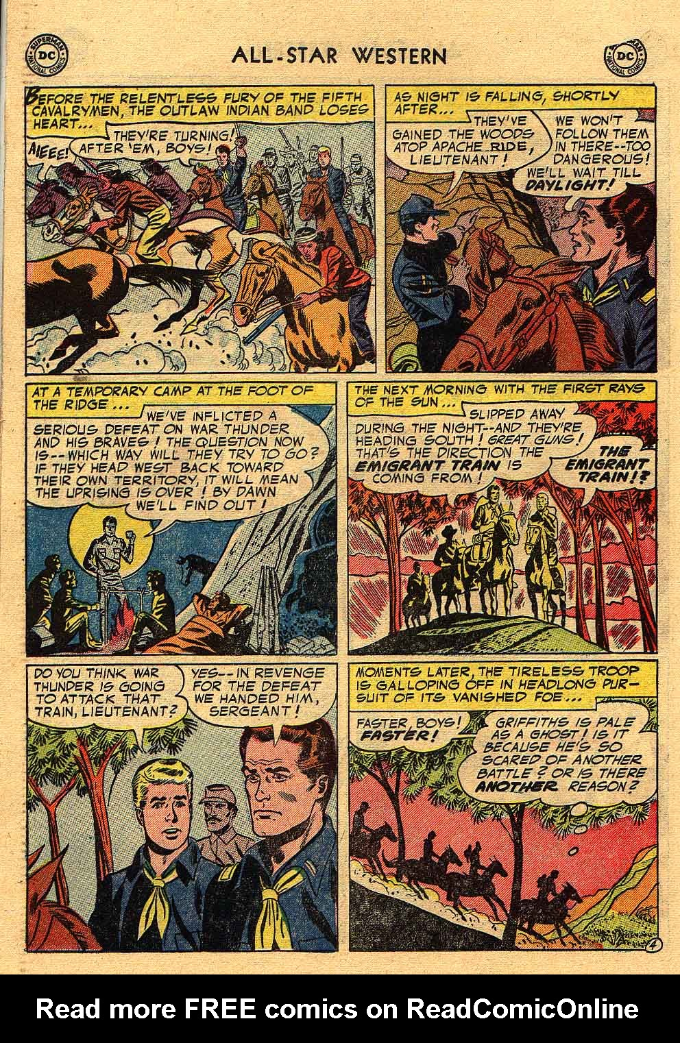 Read online All-Star Western (1951) comic -  Issue #80 - 22