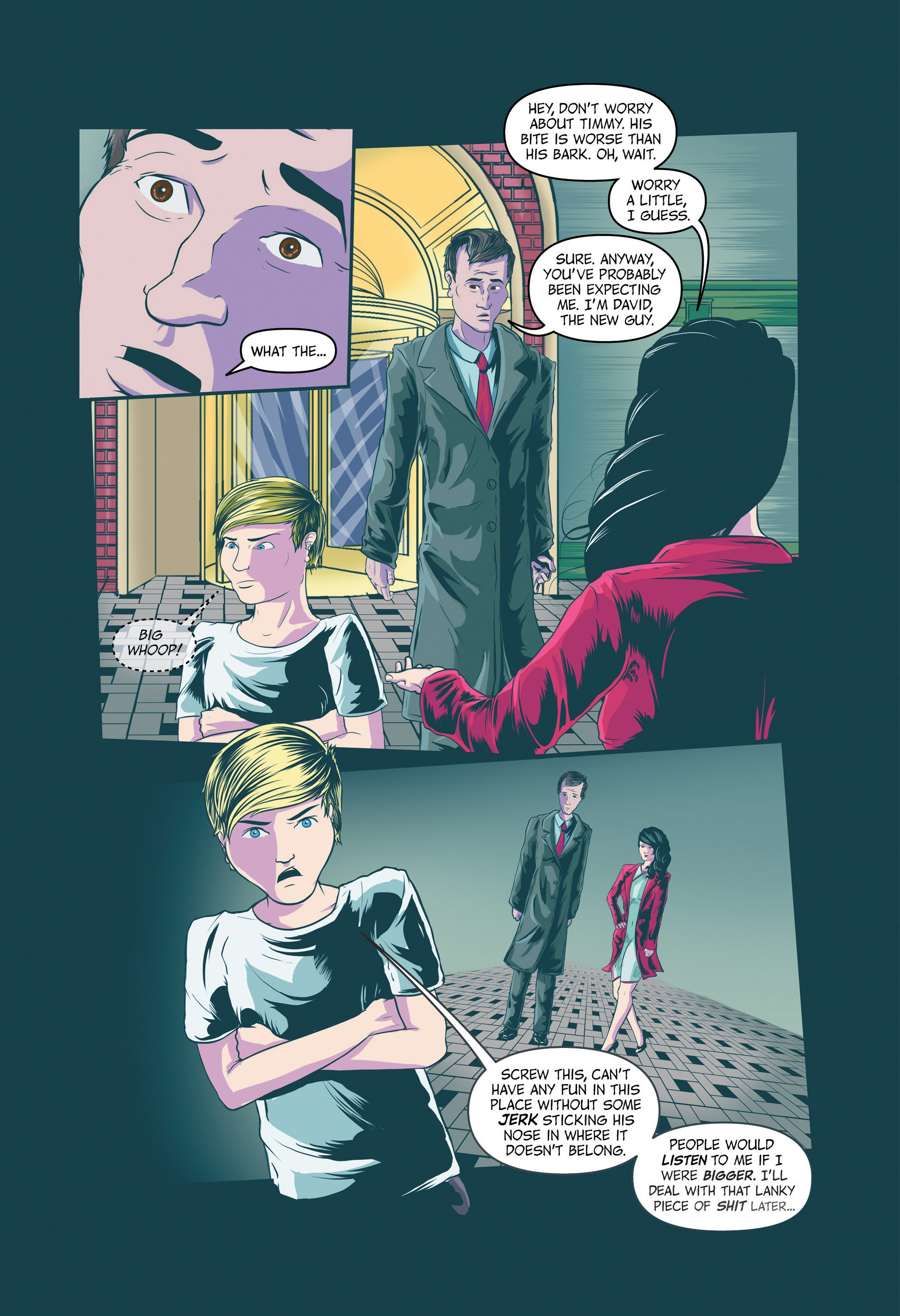 Read online Redemption Heights comic -  Issue # Full - 19