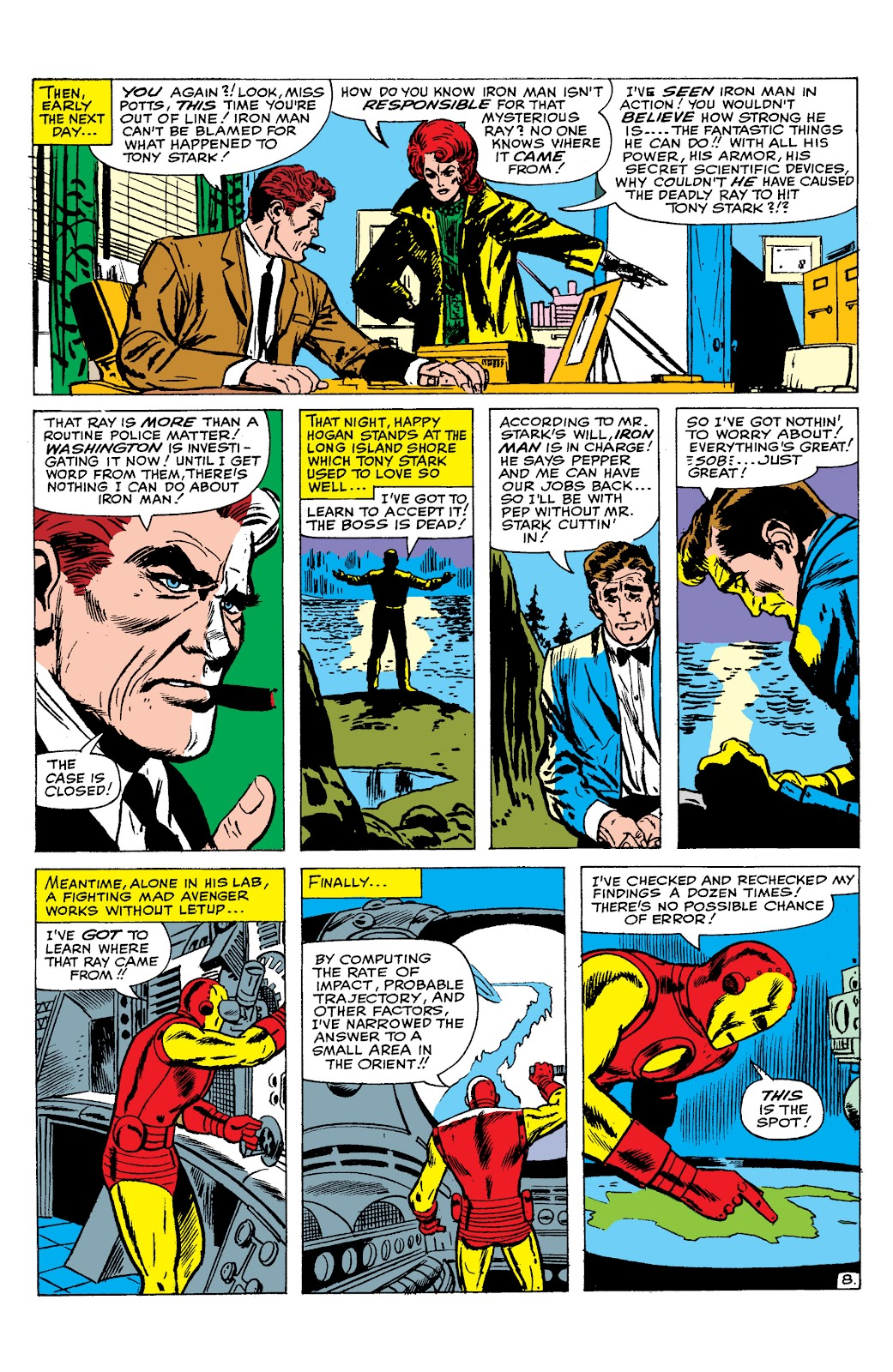 Read online Marvel Masterworks: The Invincible Iron Man comic -  Issue # TPB 2 (Part 2) - 79