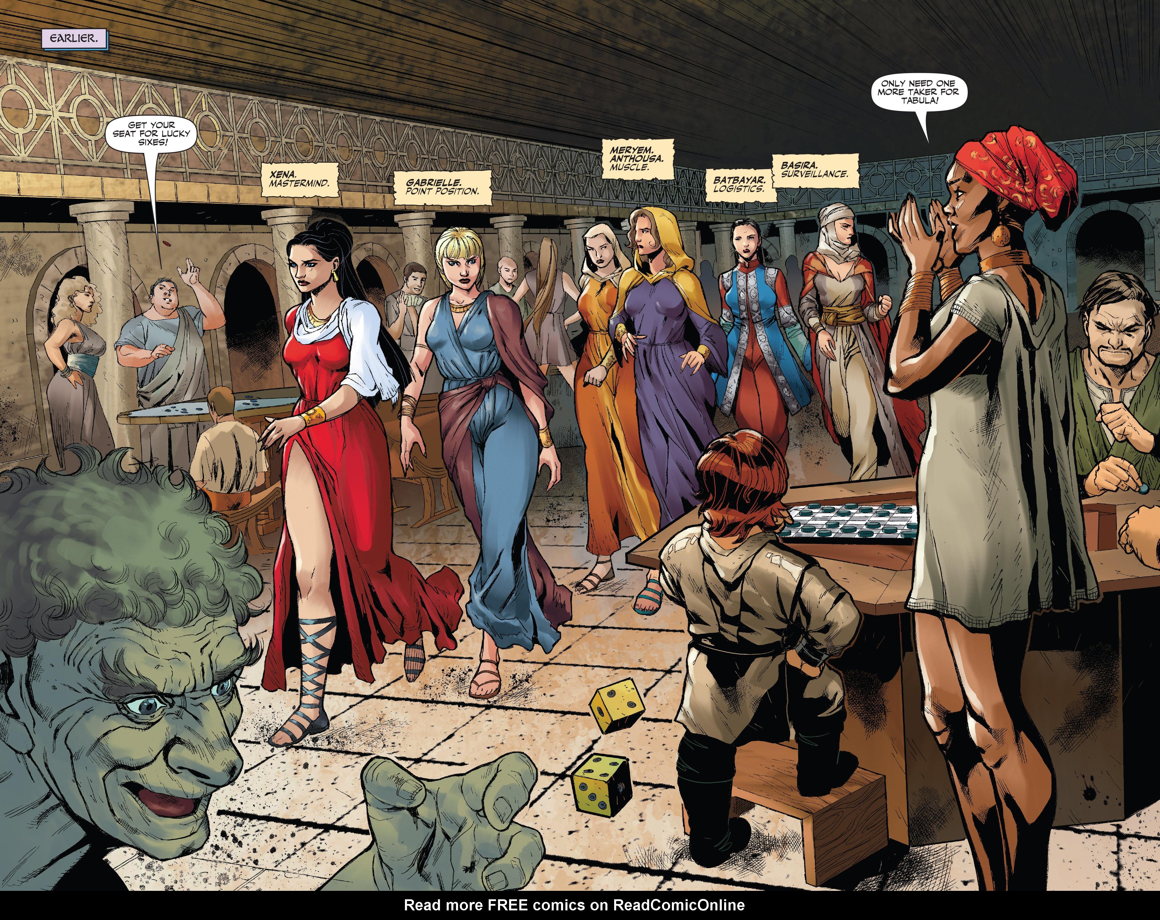 Read online Xena: Warrior Princess (2016) comic -  Issue #3 - 4