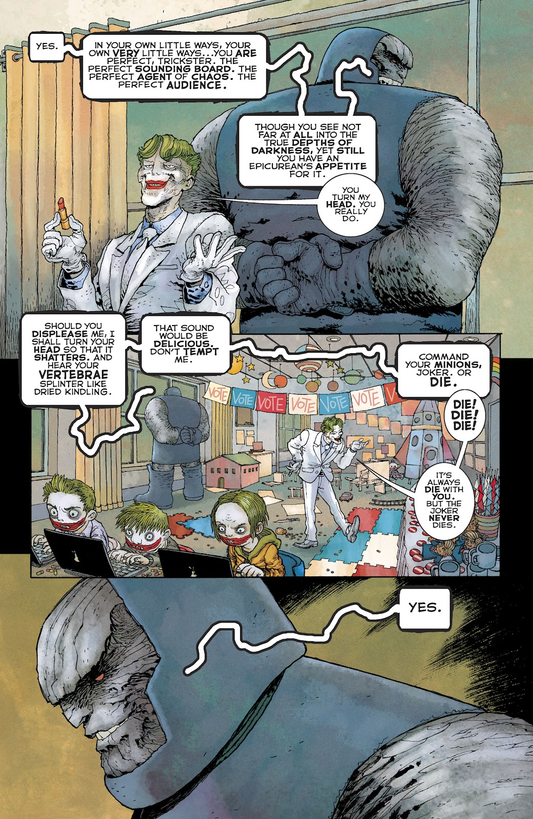 Dark Knight Returns: The Golden Child issue Full - Page 14