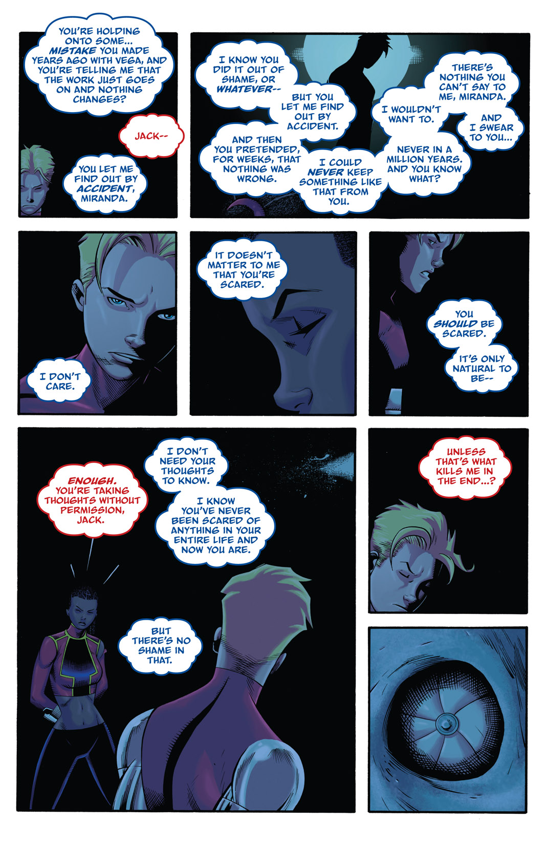 Read online The Many Adventures of Miranda Mercury: Time Runs Out comic -  Issue # TPB - 131