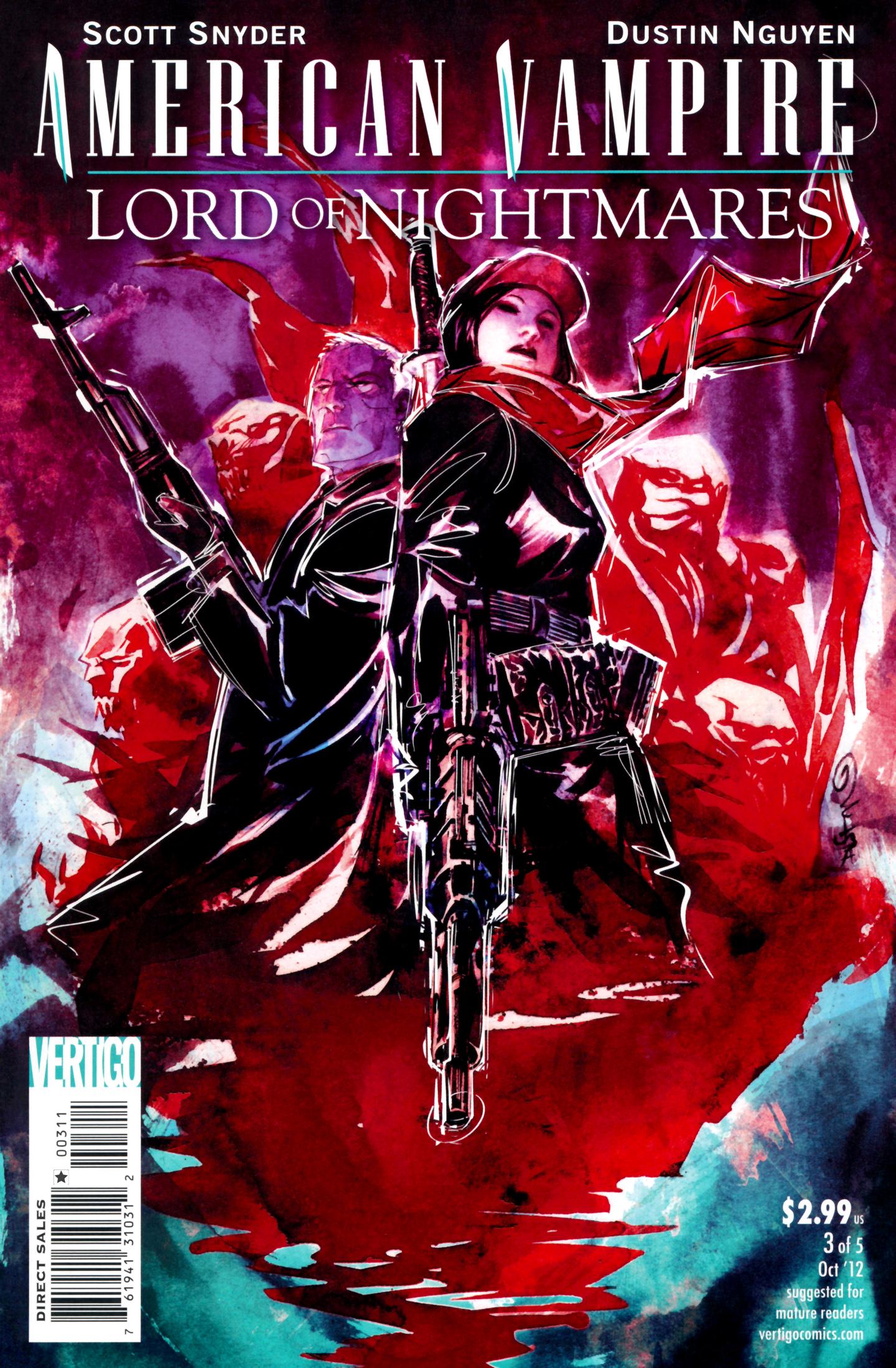 Read online American Vampire: Lord of Nightmares comic -  Issue #3 - 1