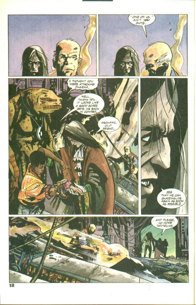 Read online Shadow Cabinet comic -  Issue #8 - 14