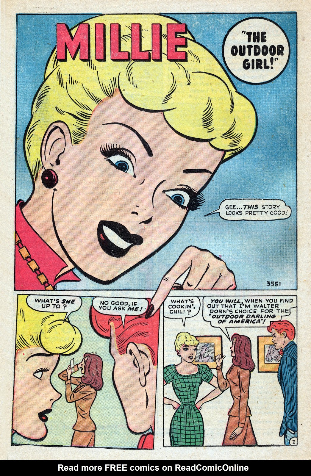 Read online Nellie The Nurse (1945) comic -  Issue #17 - 22