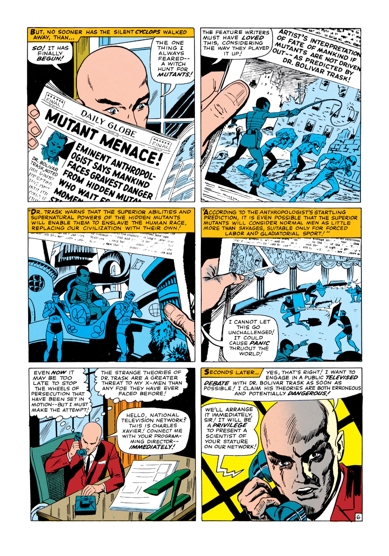 Read online Uncanny X-Men (1963) comic -  Issue #14 - 7