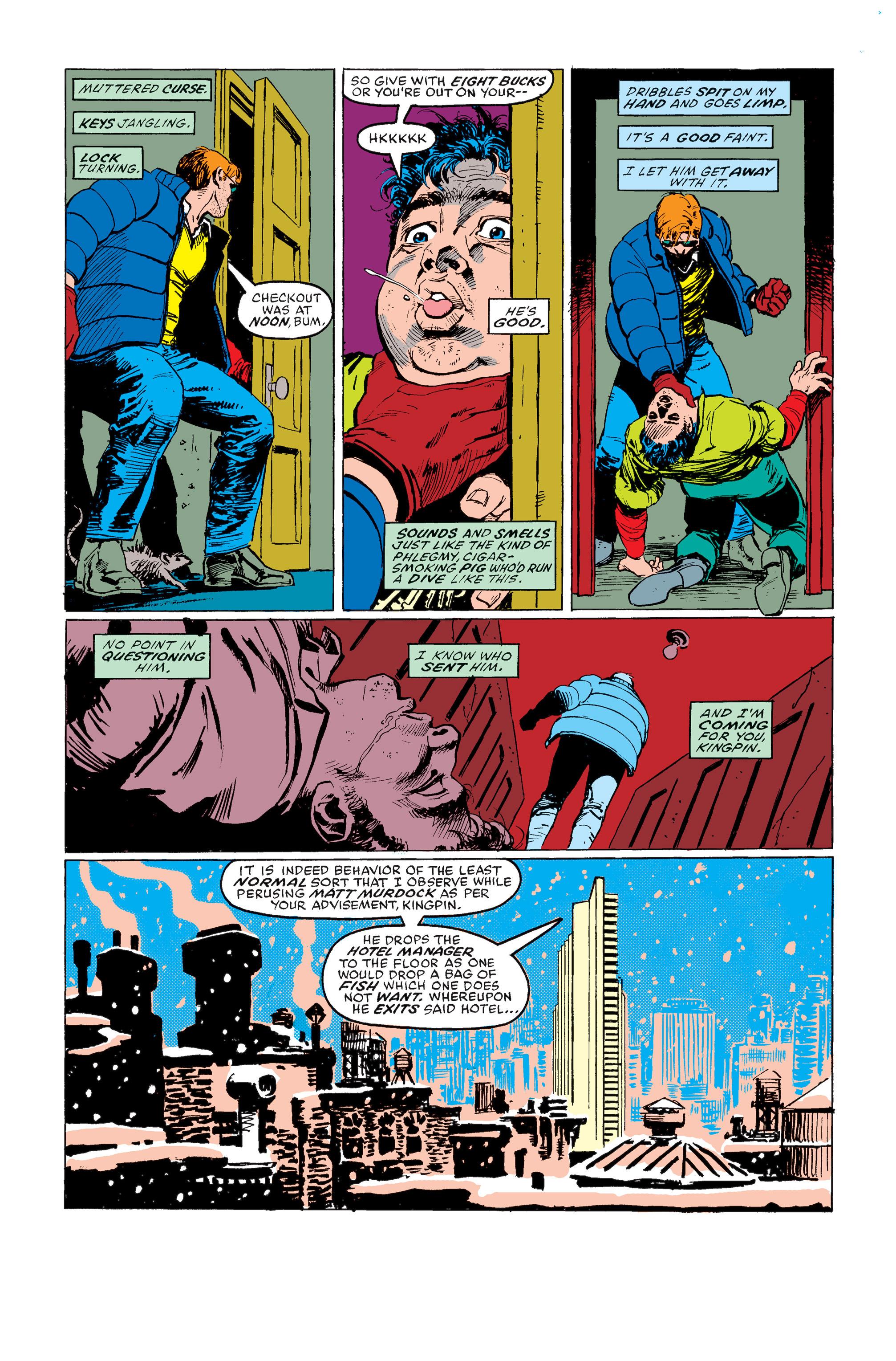 Read online Daredevil: Born Again comic -  Issue # Full - 62