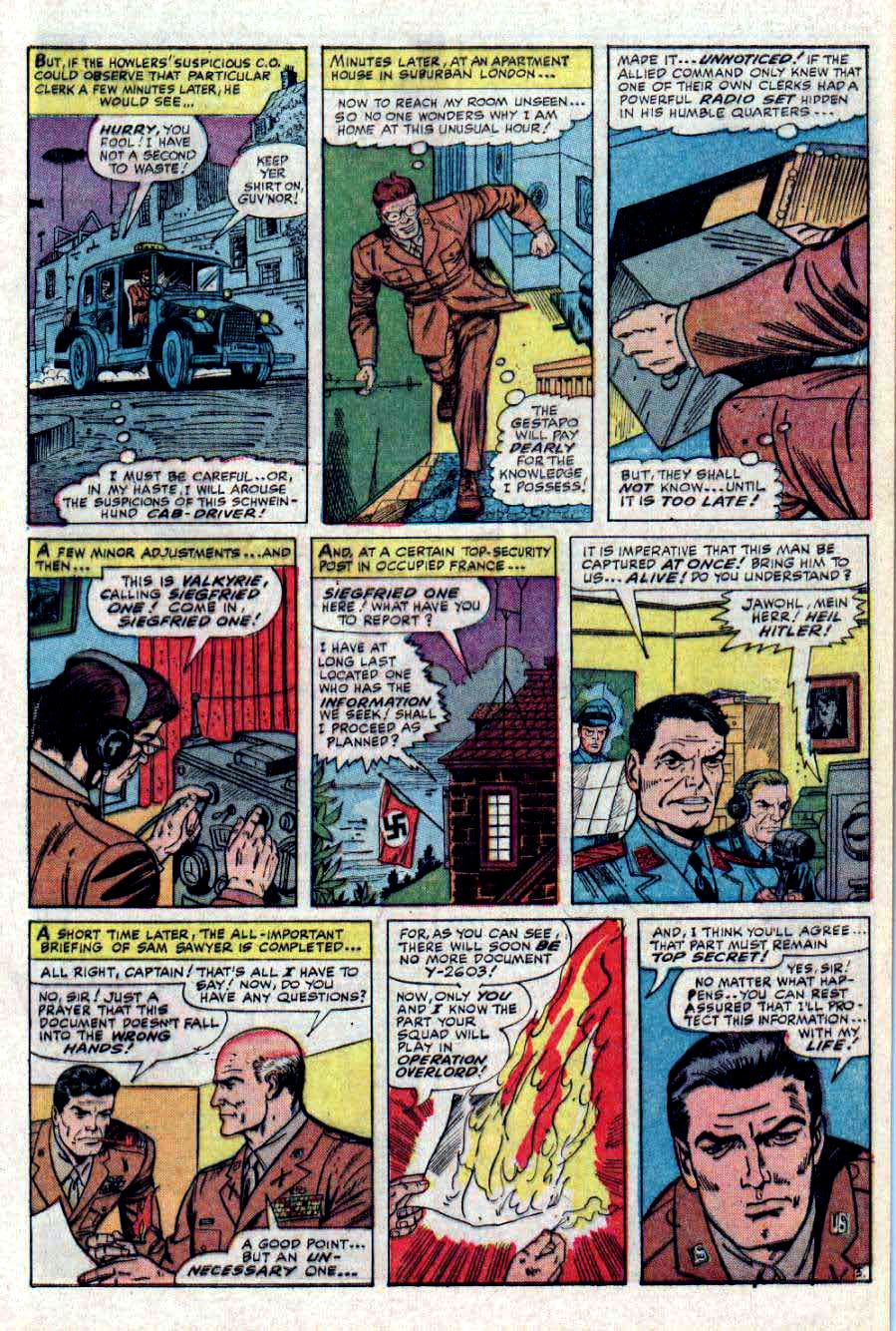 Read online Sgt. Fury comic -  Issue #31 - 9