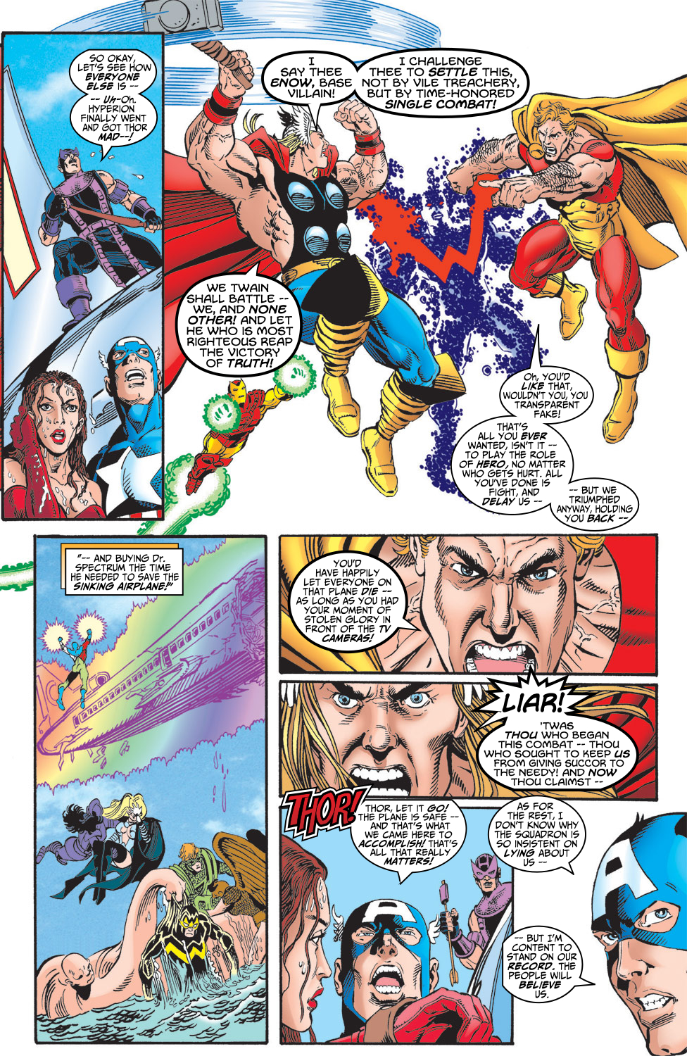 Read online Avengers (1998) comic -  Issue #5 - 20