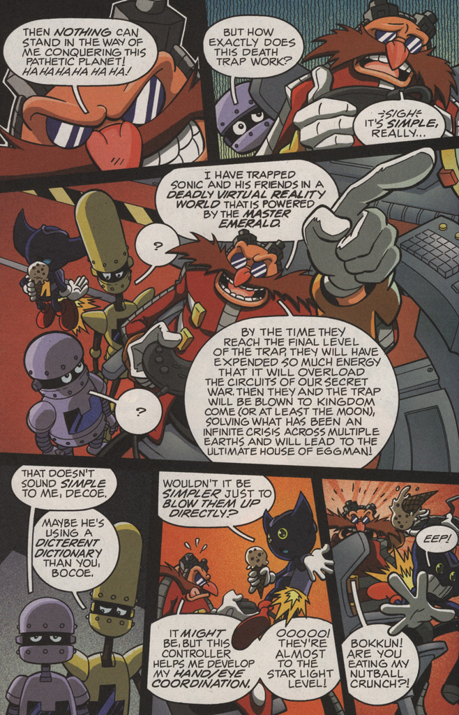 Read online Sonic X comic -  Issue #11 - 16