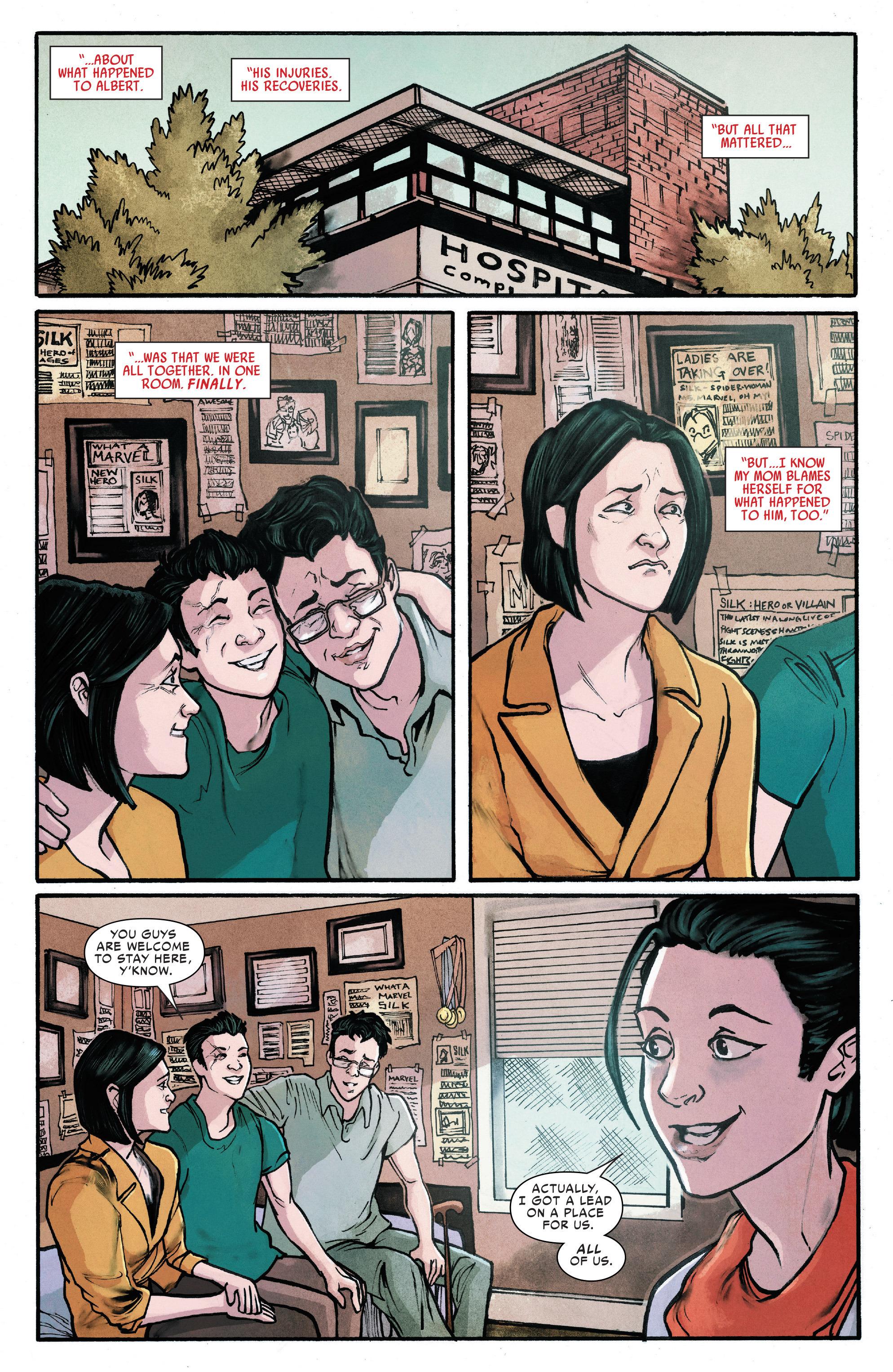 Read online Silk (2016) comic -  Issue #13 - 15