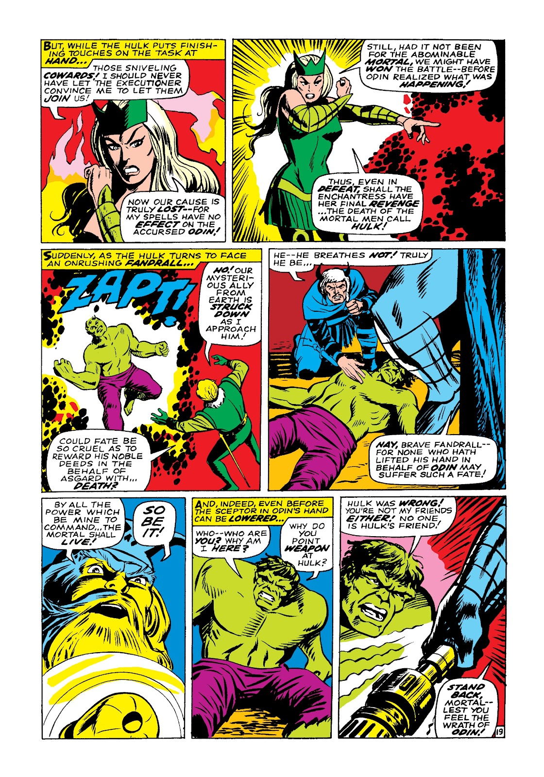 Read online Marvel Masterworks: The Incredible Hulk comic -  Issue # TPB 3 (Part 3) - 82