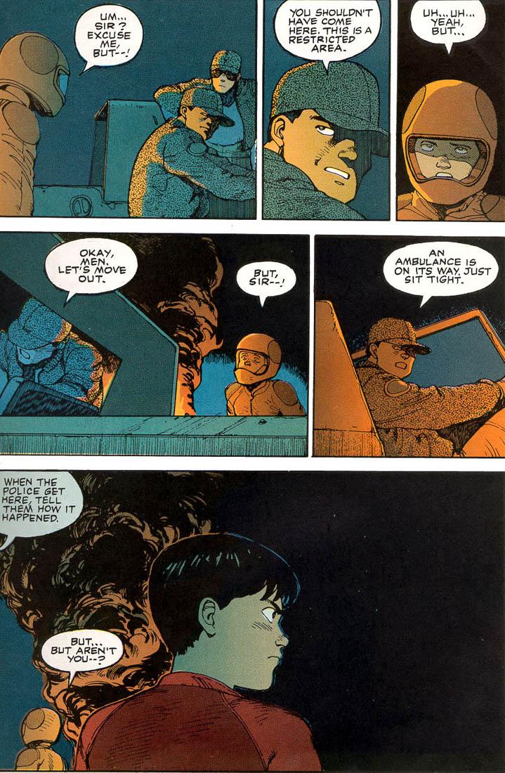 Read online Akira comic -  Issue #1 - 25