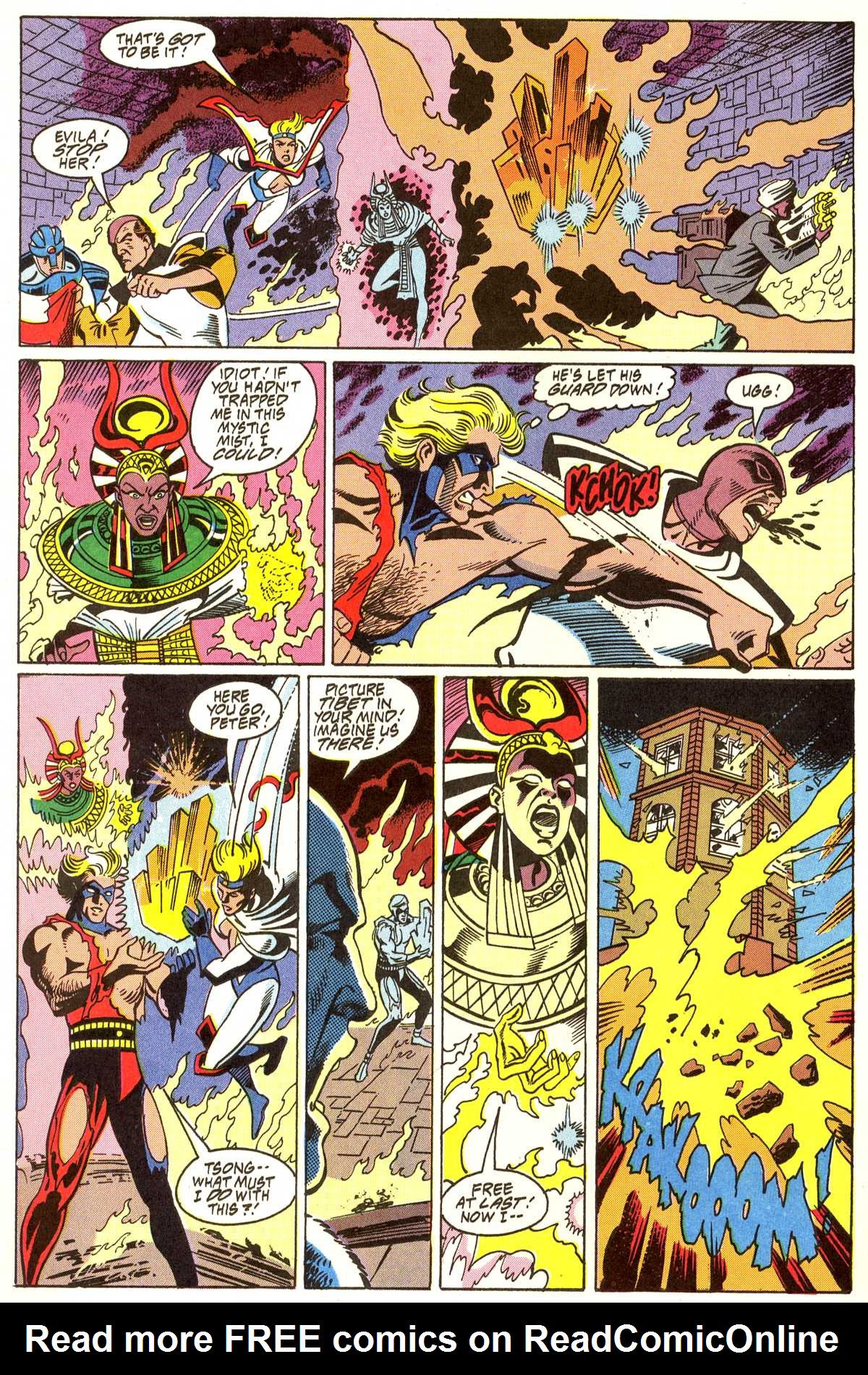 Read online Peter Cannon--Thunderbolt (1992) comic -  Issue #11 - 19