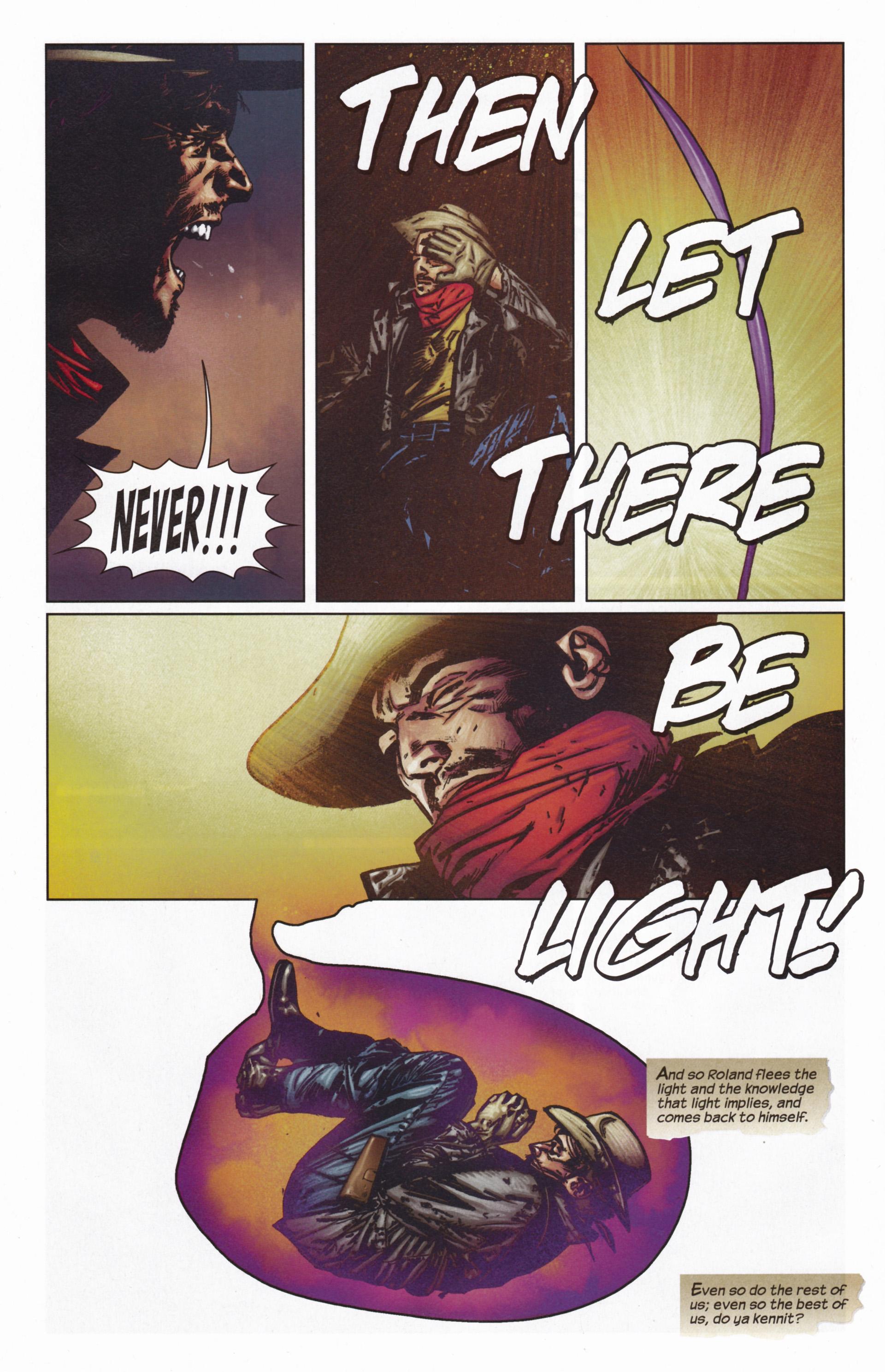 Read online Dark Tower: The Gunslinger - The Man in Black comic -  Issue #5 - 15