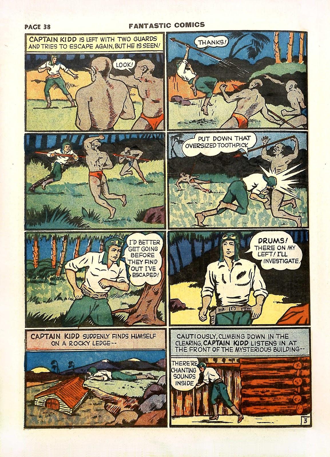 Read online Fantastic Comics comic -  Issue #11 - 41